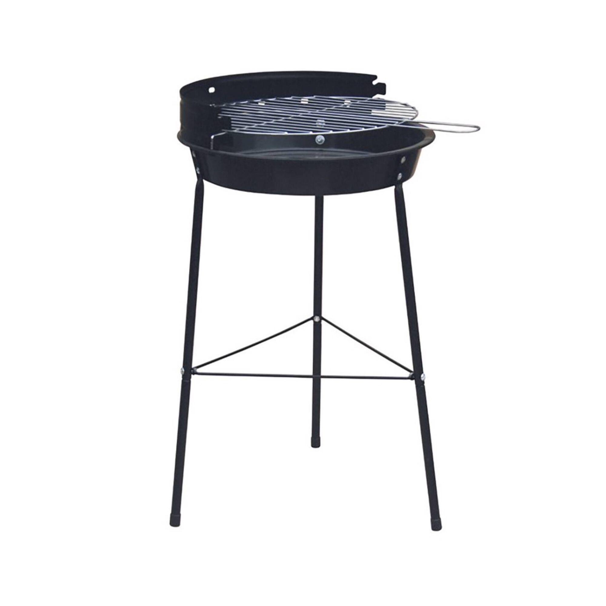 Barbecue Carvão Redondo 34cm