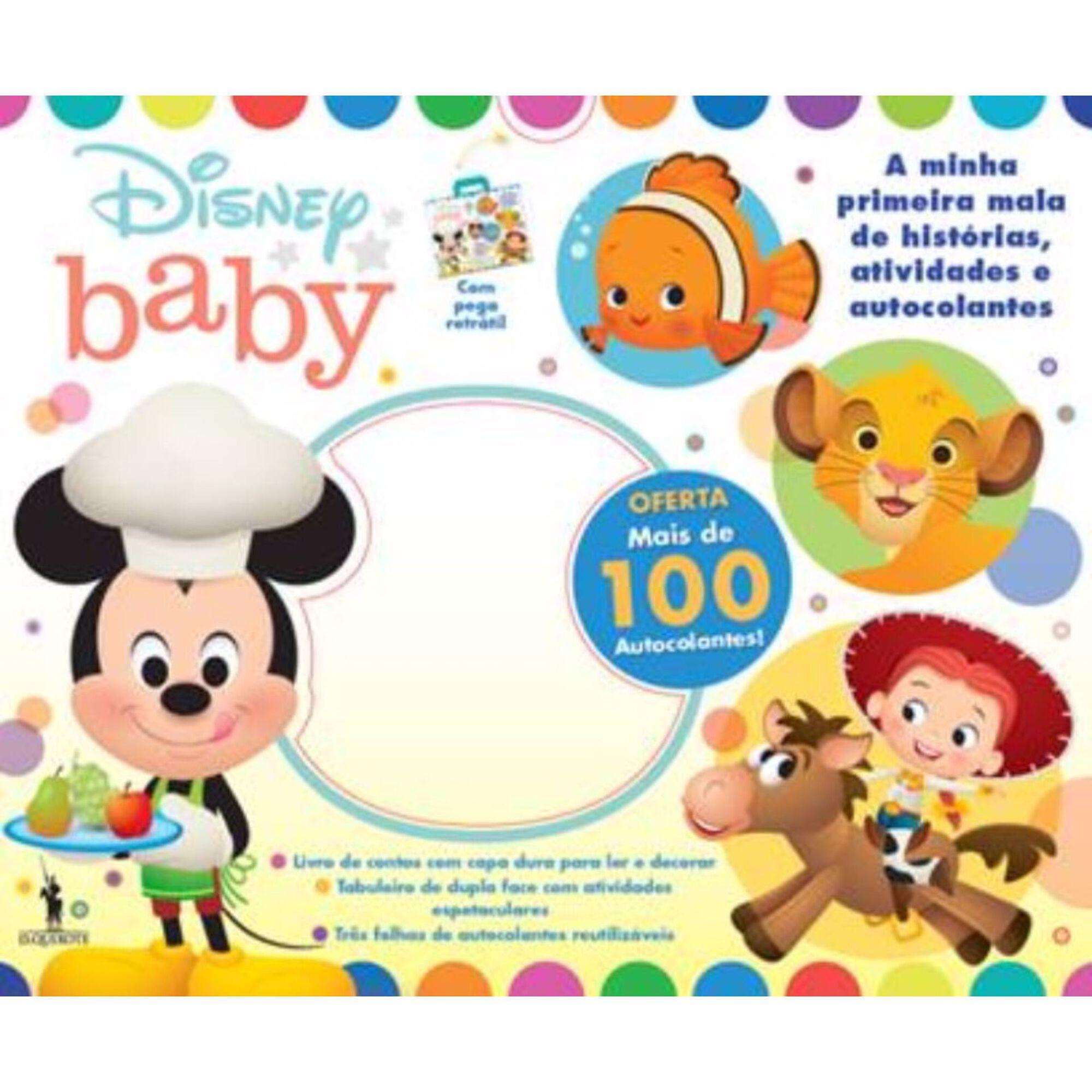 Disney Baby - Mala de Atividades