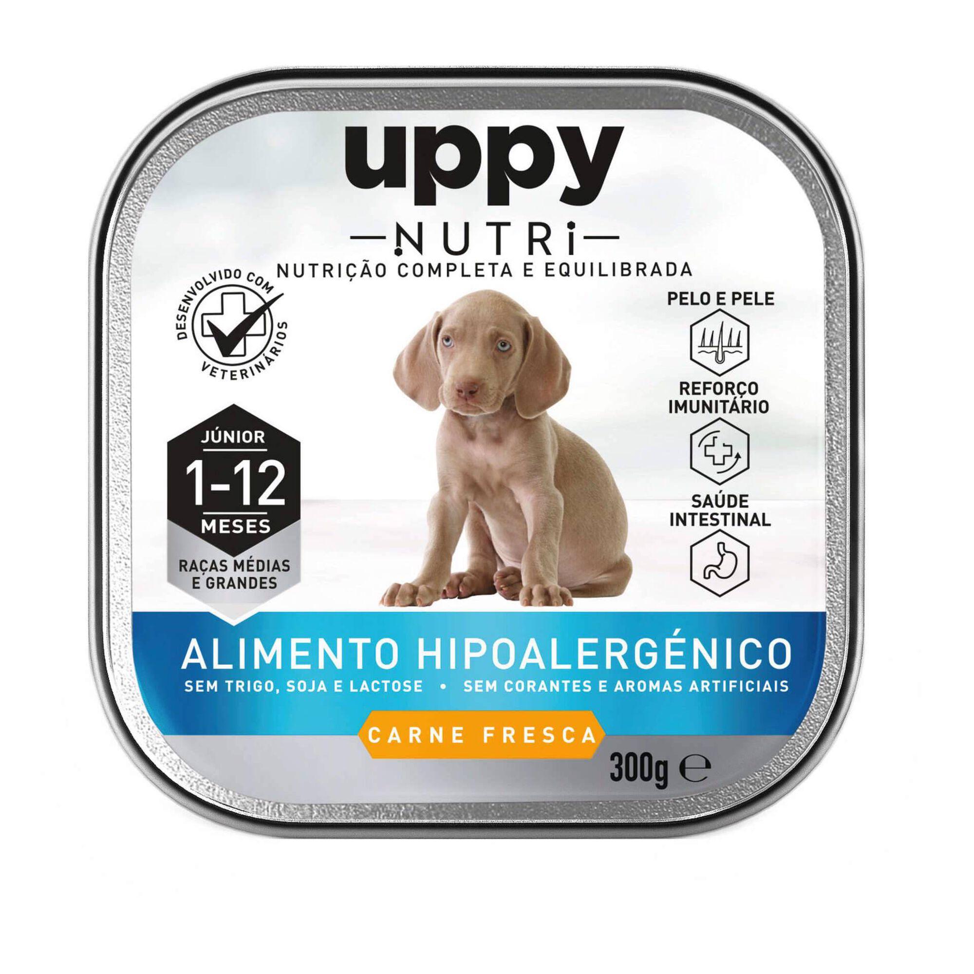 Comida Húmida para Cão Júnior Raças Médias e Grandes Frango Terrina