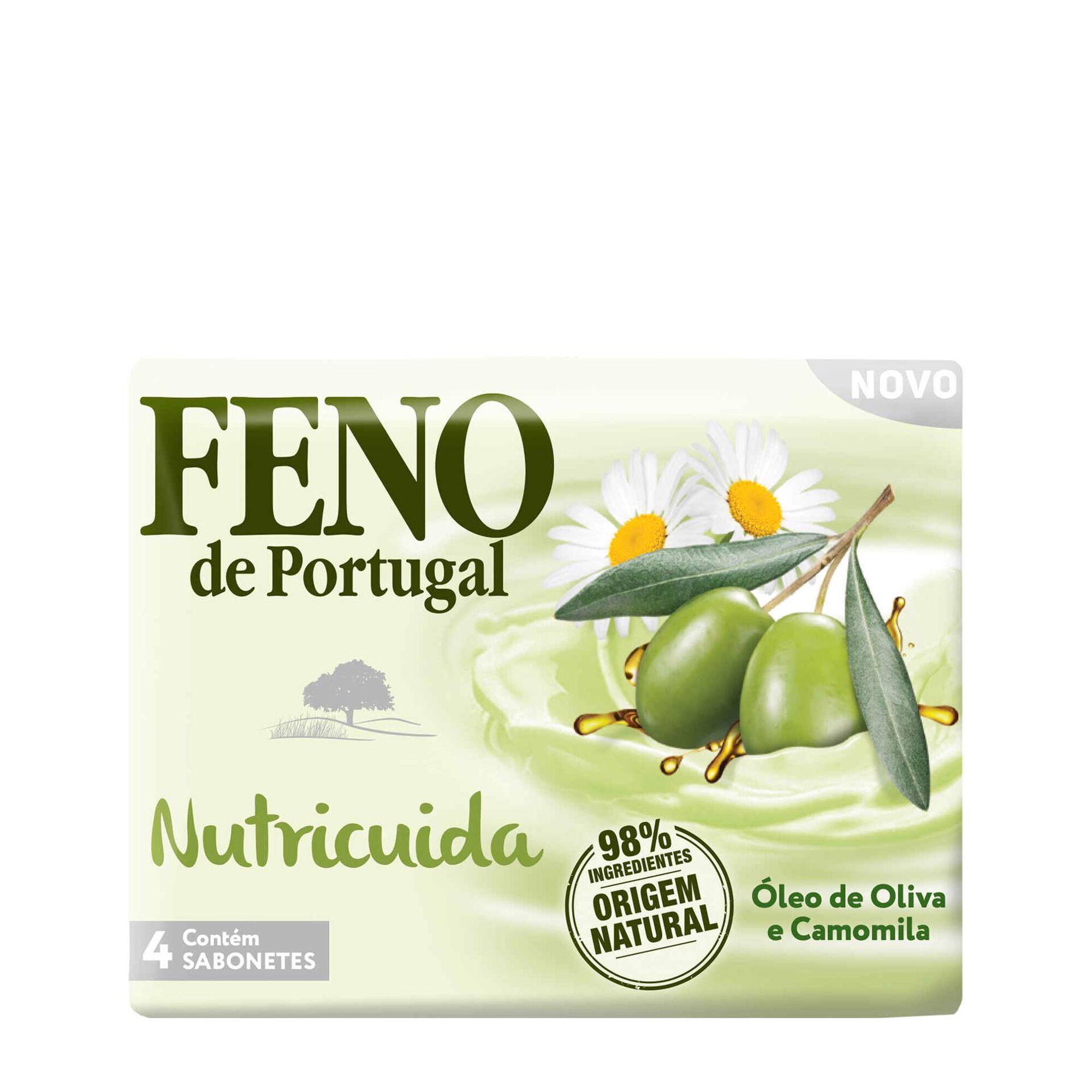 Sabonete Sólido Nutricuida Óleo de Oliva e Camomila