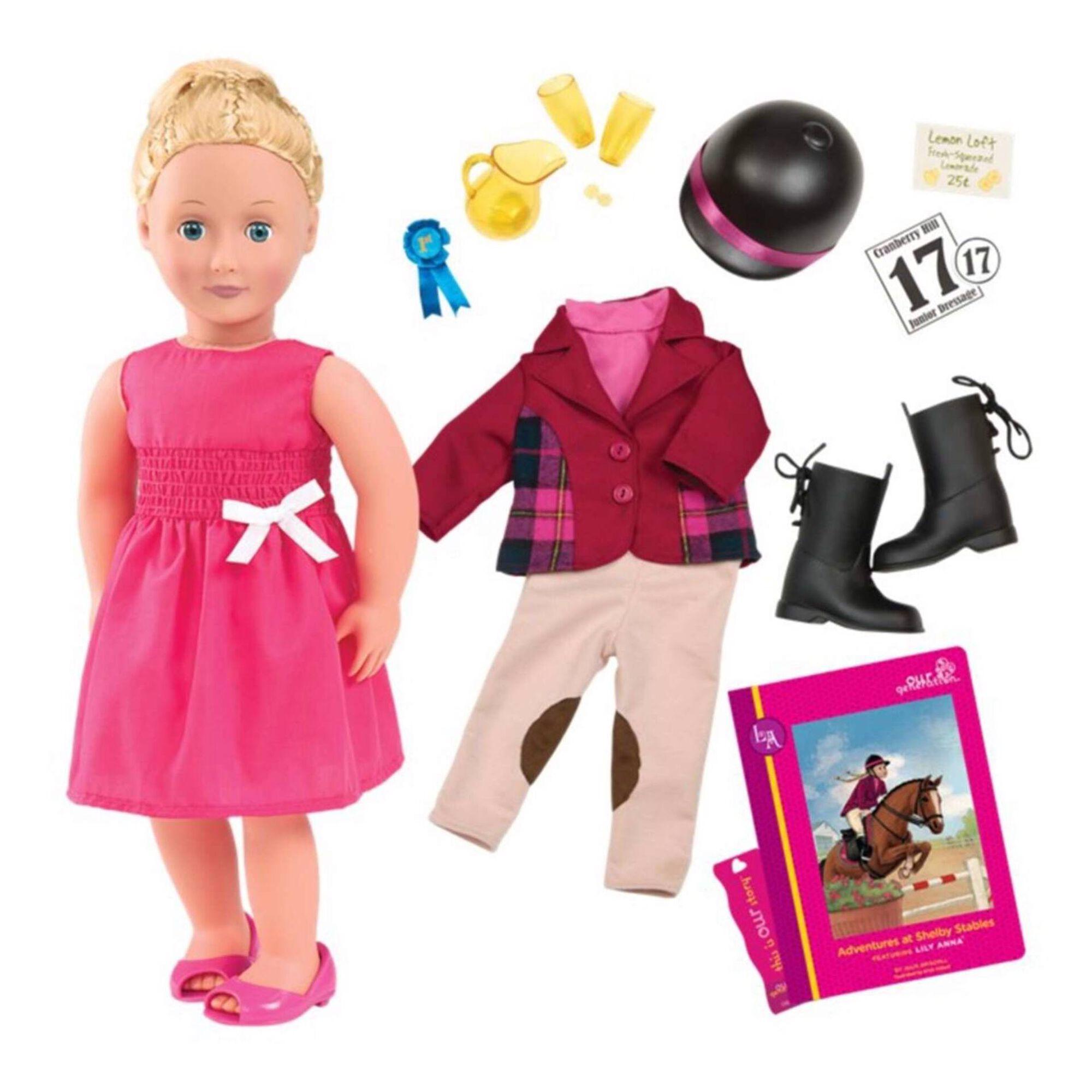 Boneca Lily Anna 45cm