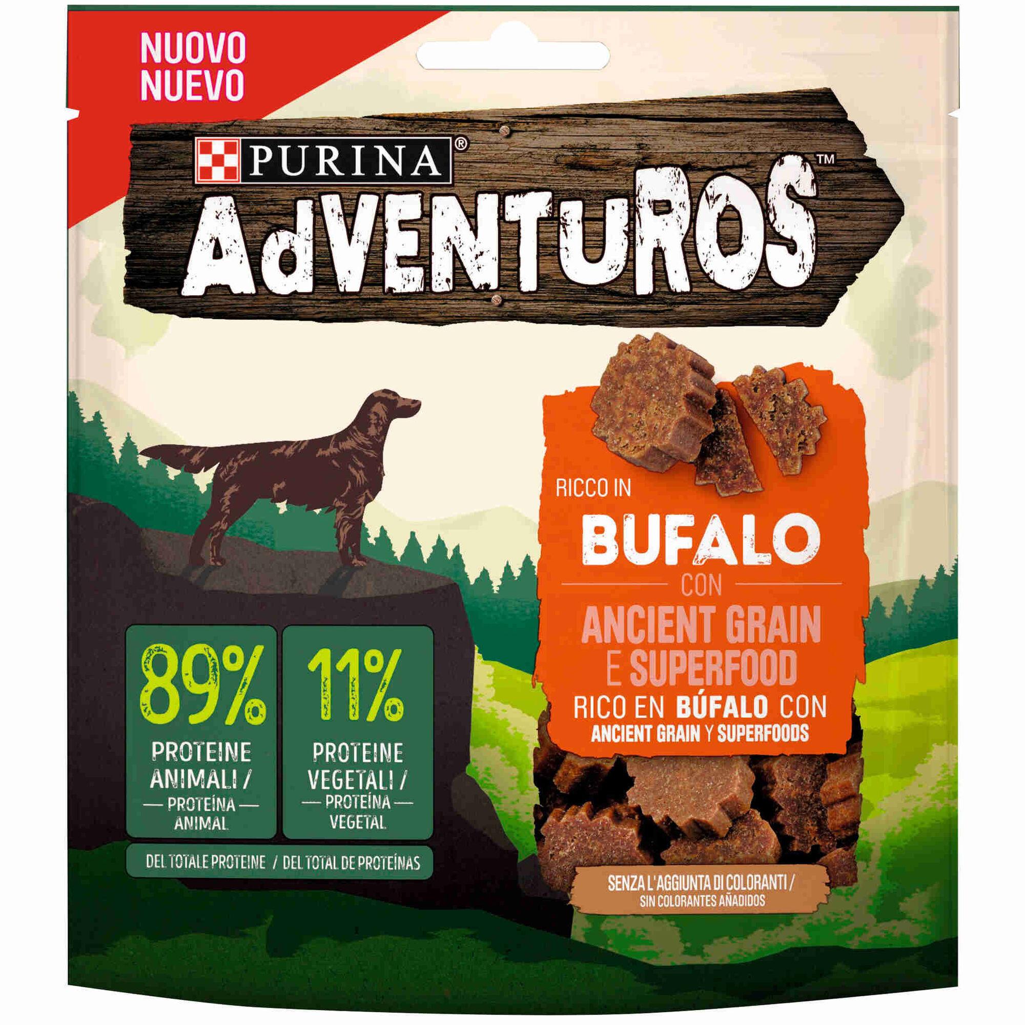 Snack para Cão Adulto Adventuros Búfalo