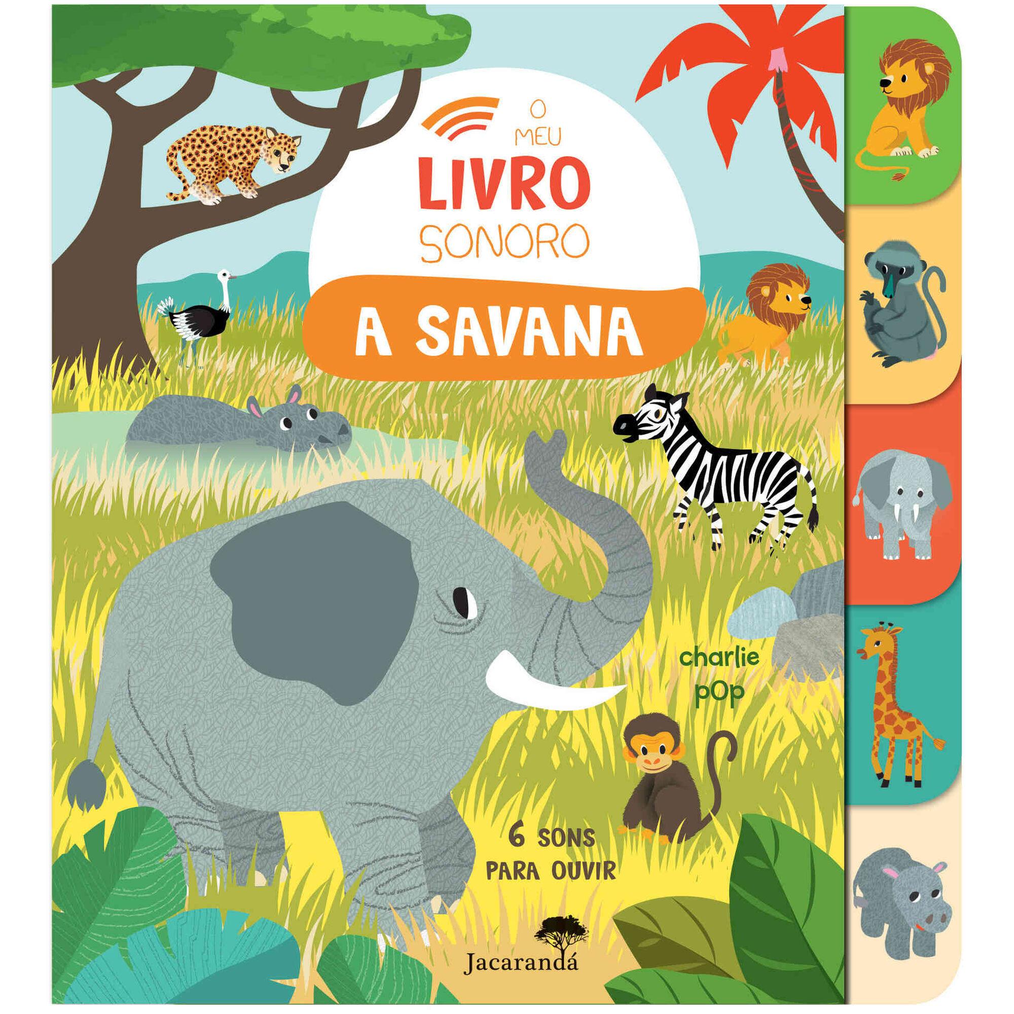 O Meu Livro Sonoro - A Savana