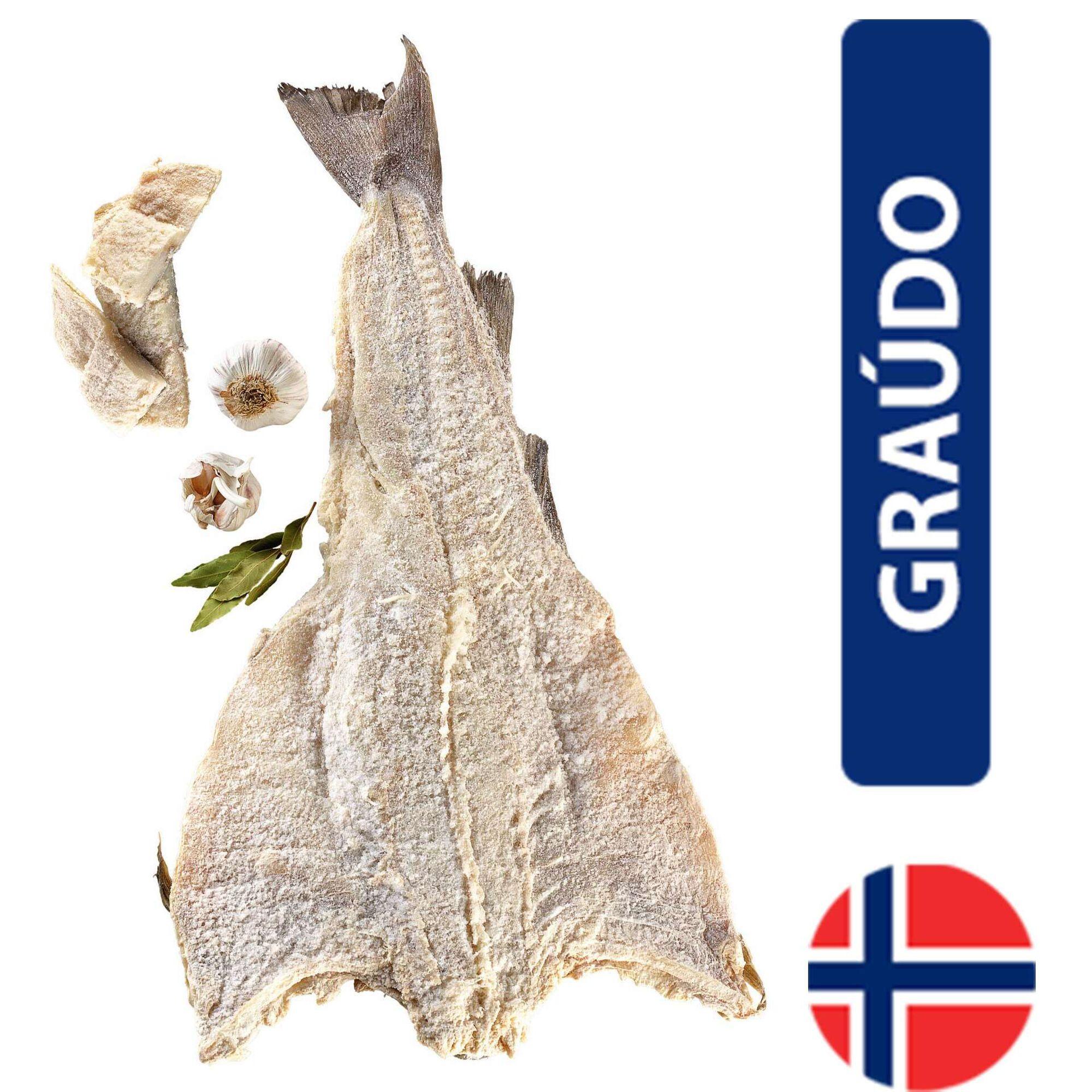 Bacalhau Graúdo Asa Branca 1ª Noruega Seco