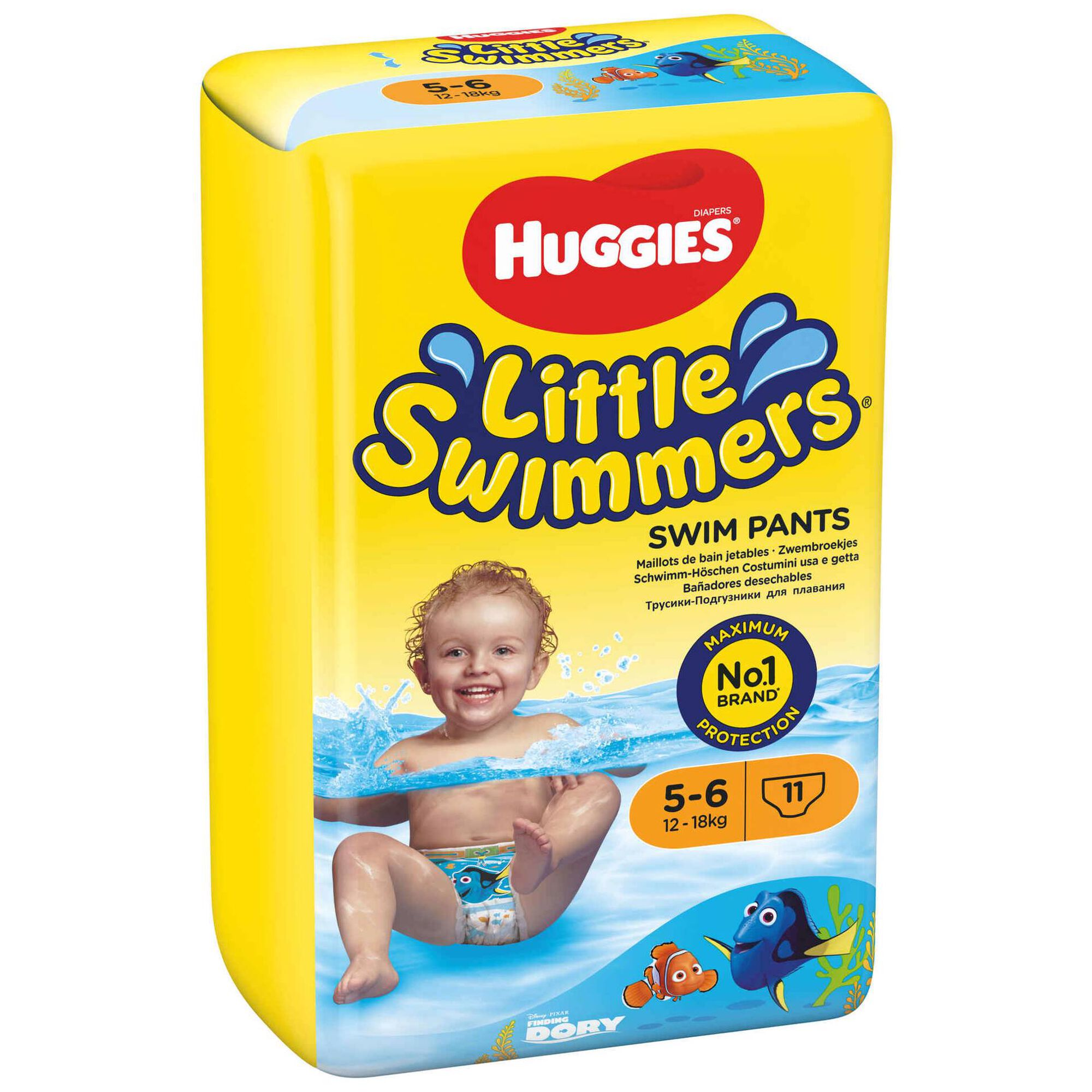 Cuecas Banho Little Swimmers 12-18kg T5-6