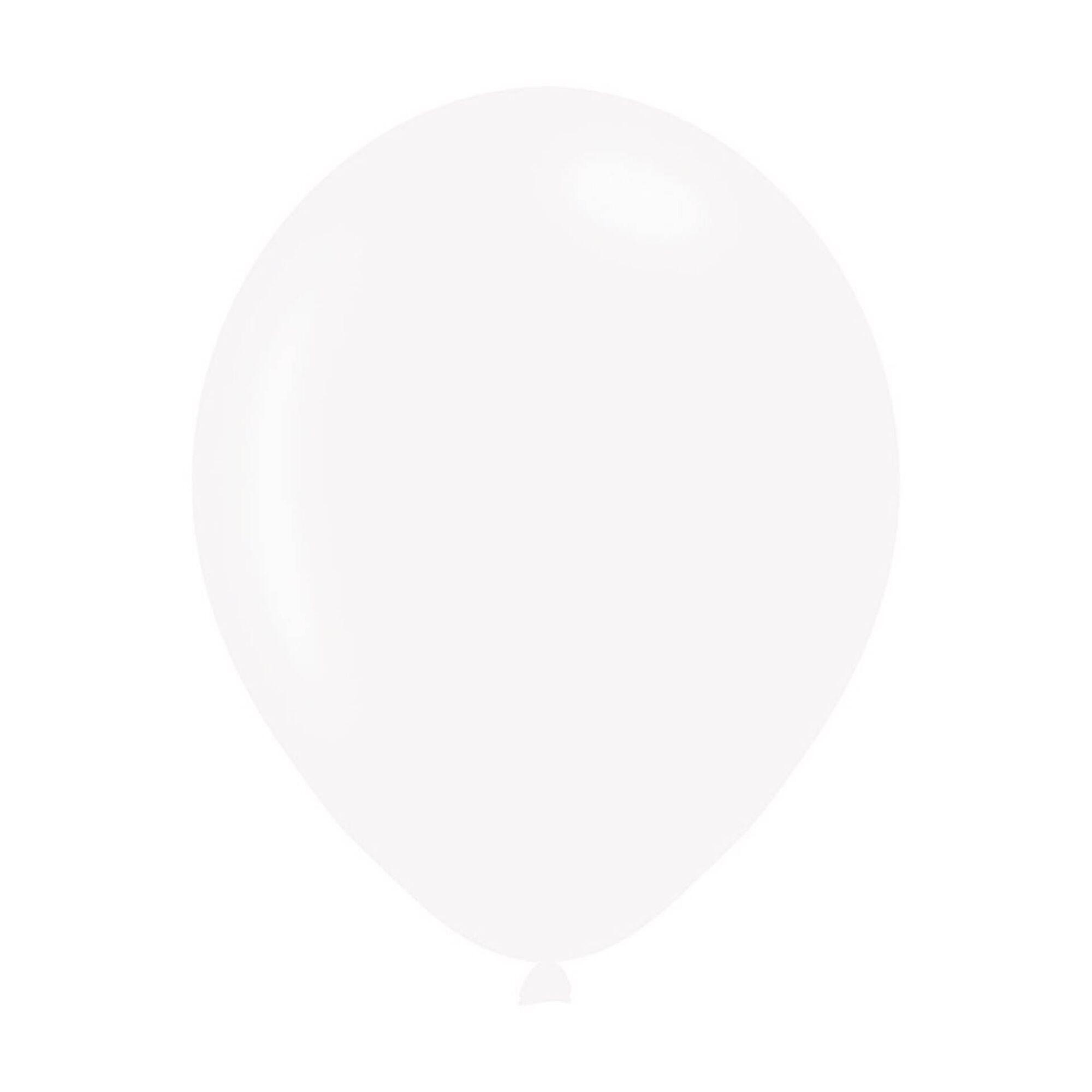 Balões Metalizados Brancos
