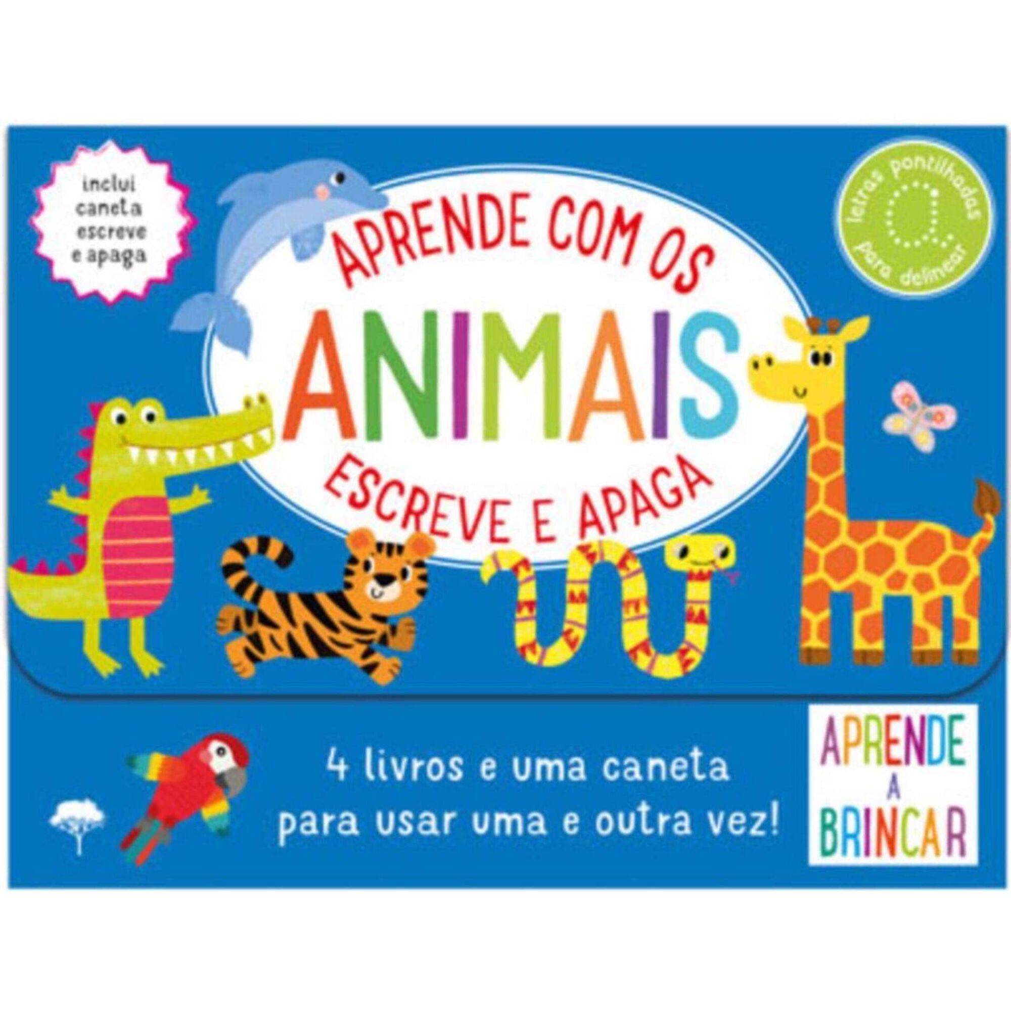 Escreve e Apaga - Aprende com os Animais