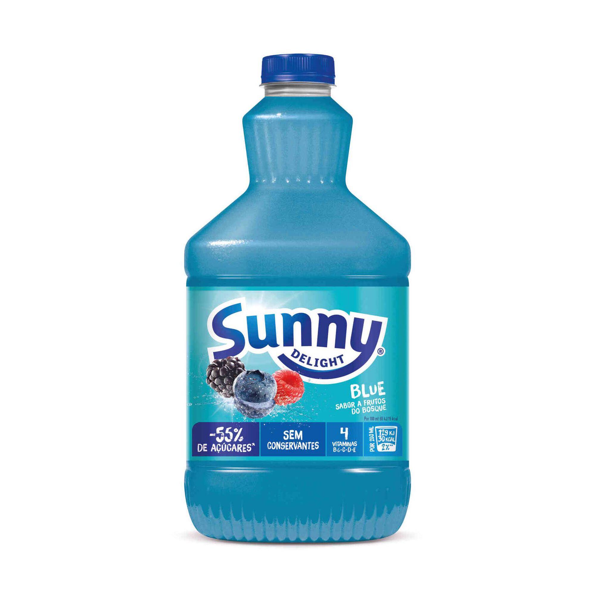 Refrigerante Blue Raspberry