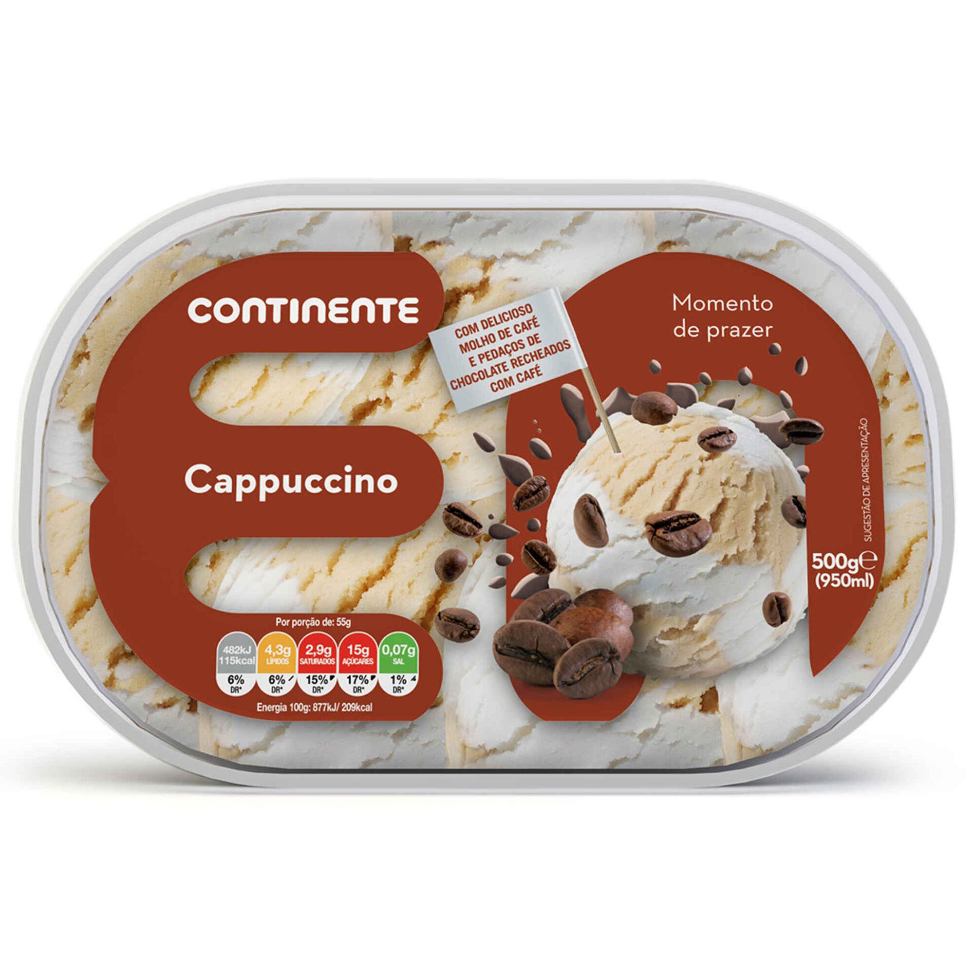 Gelado de Cappuccino