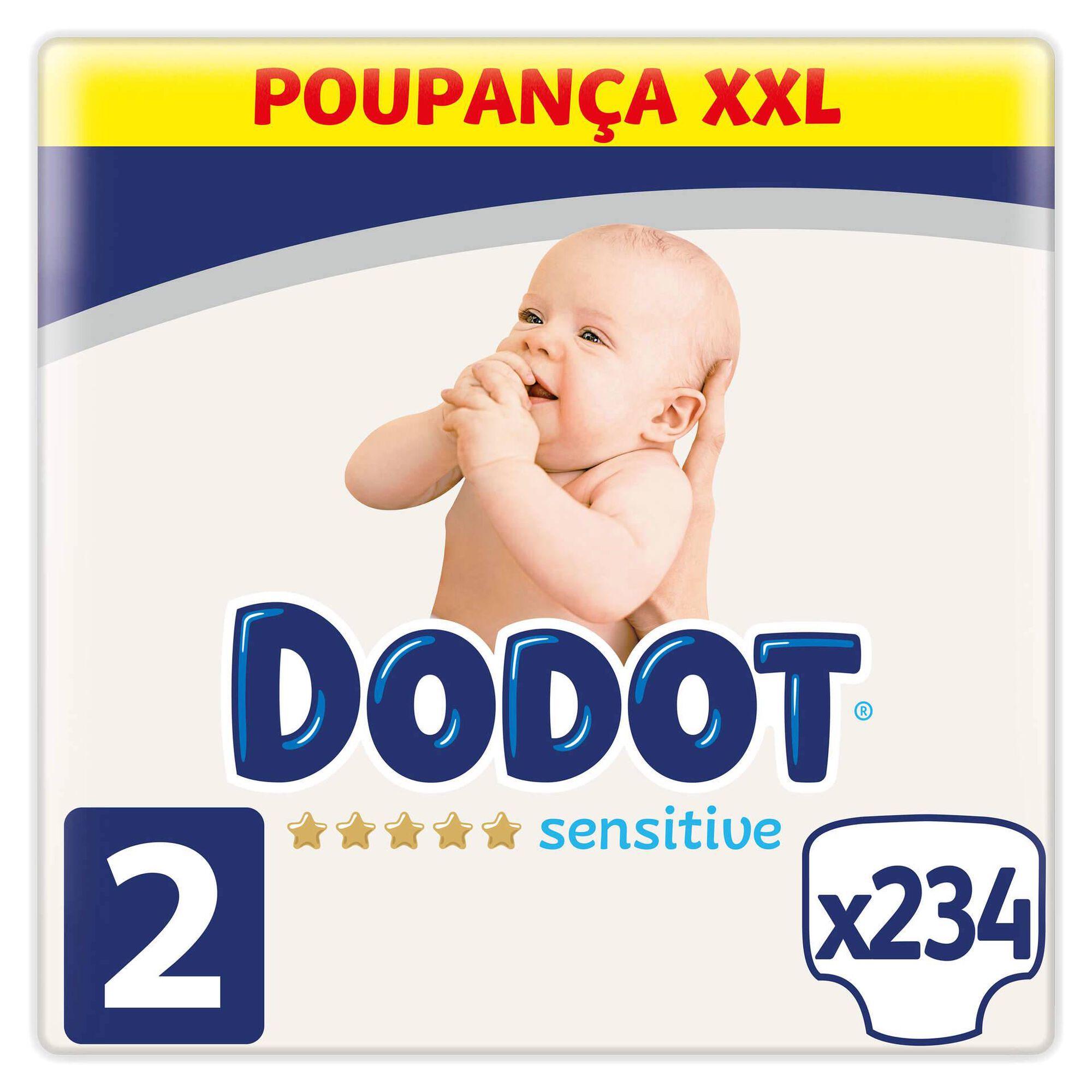 Box Fraldas Sensitive XXL 4-8kg T2