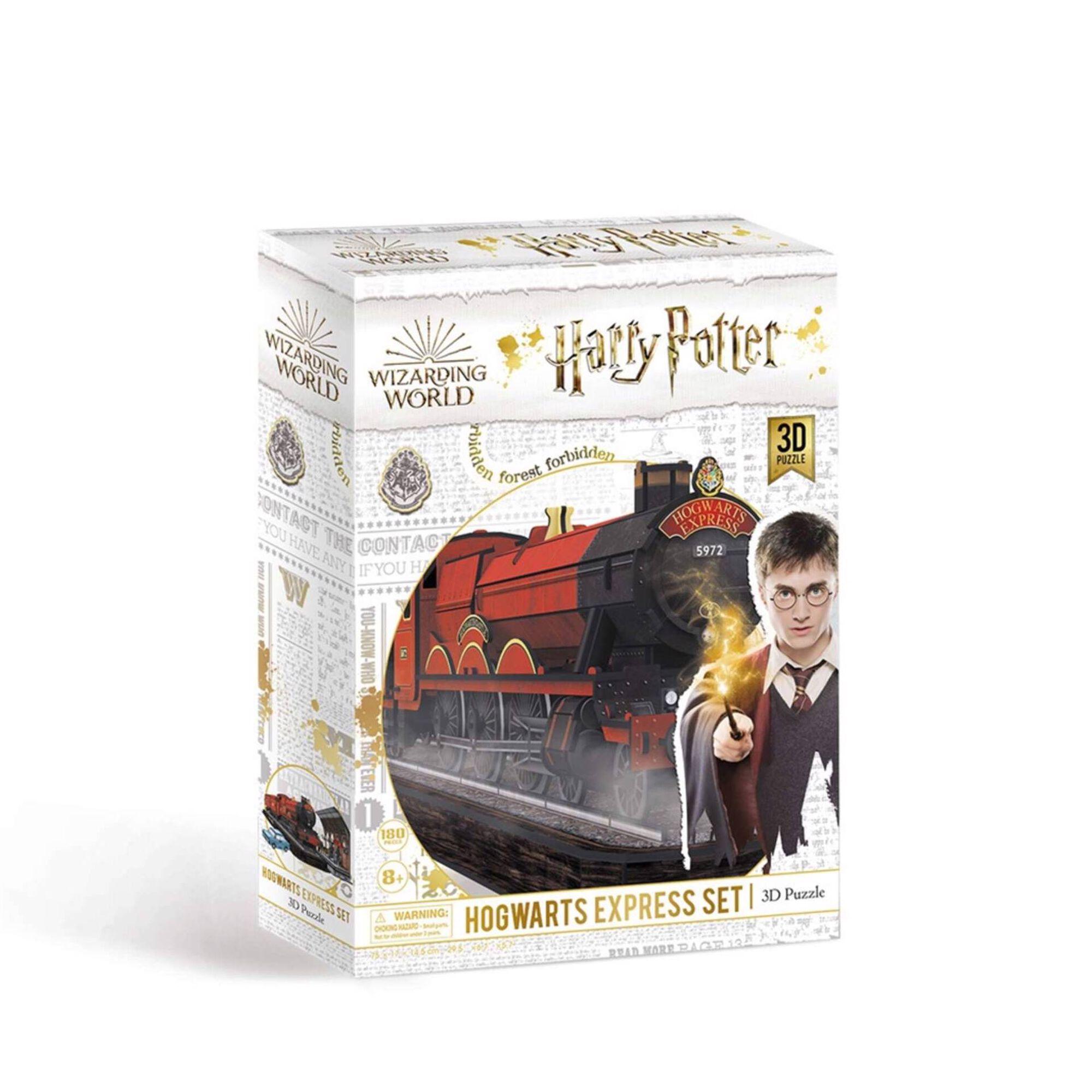 Puzzle 3D Harry Potter Hogwarts Express 180 Peças