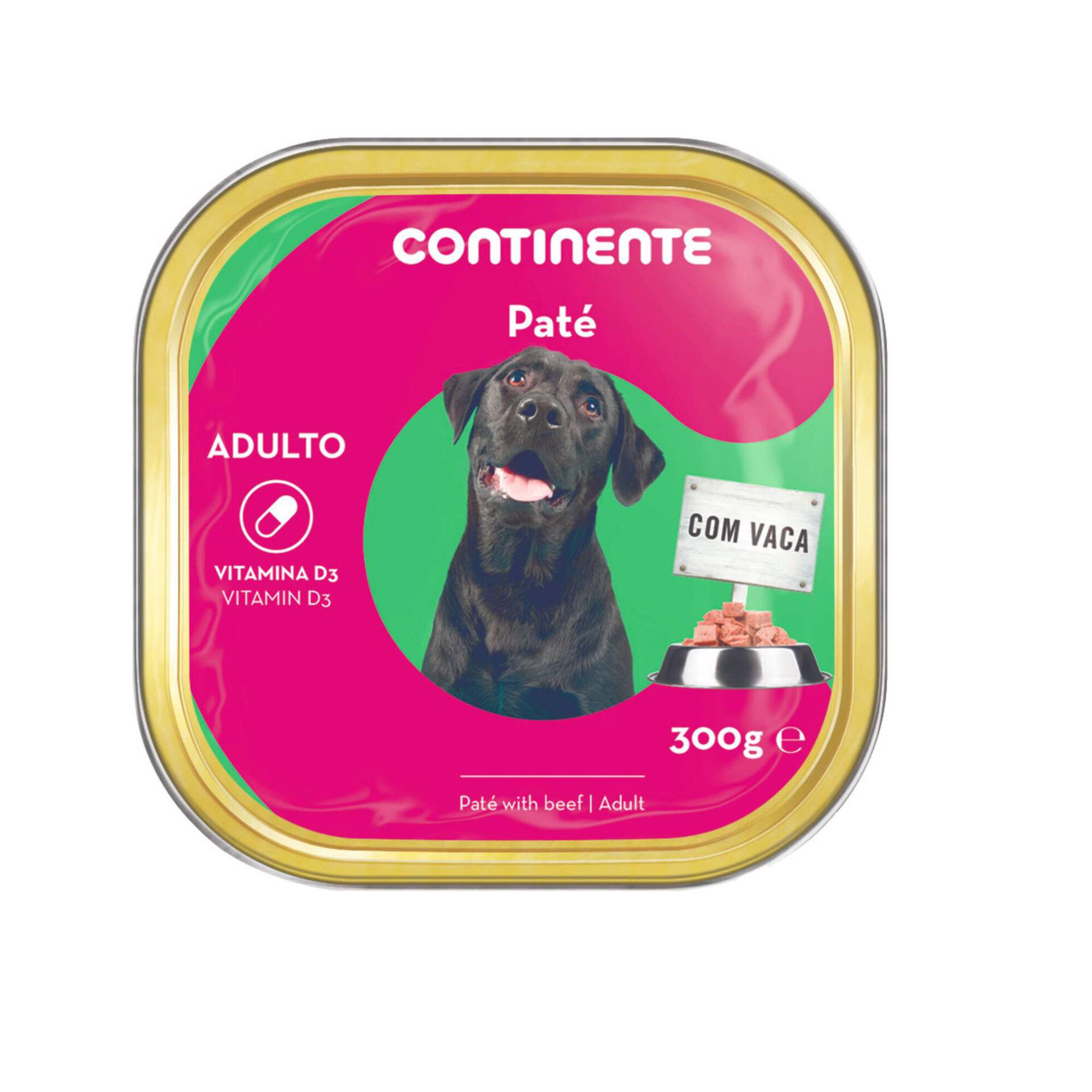 Comida Húmida para Cão Adulto Patê Vaca Terrina