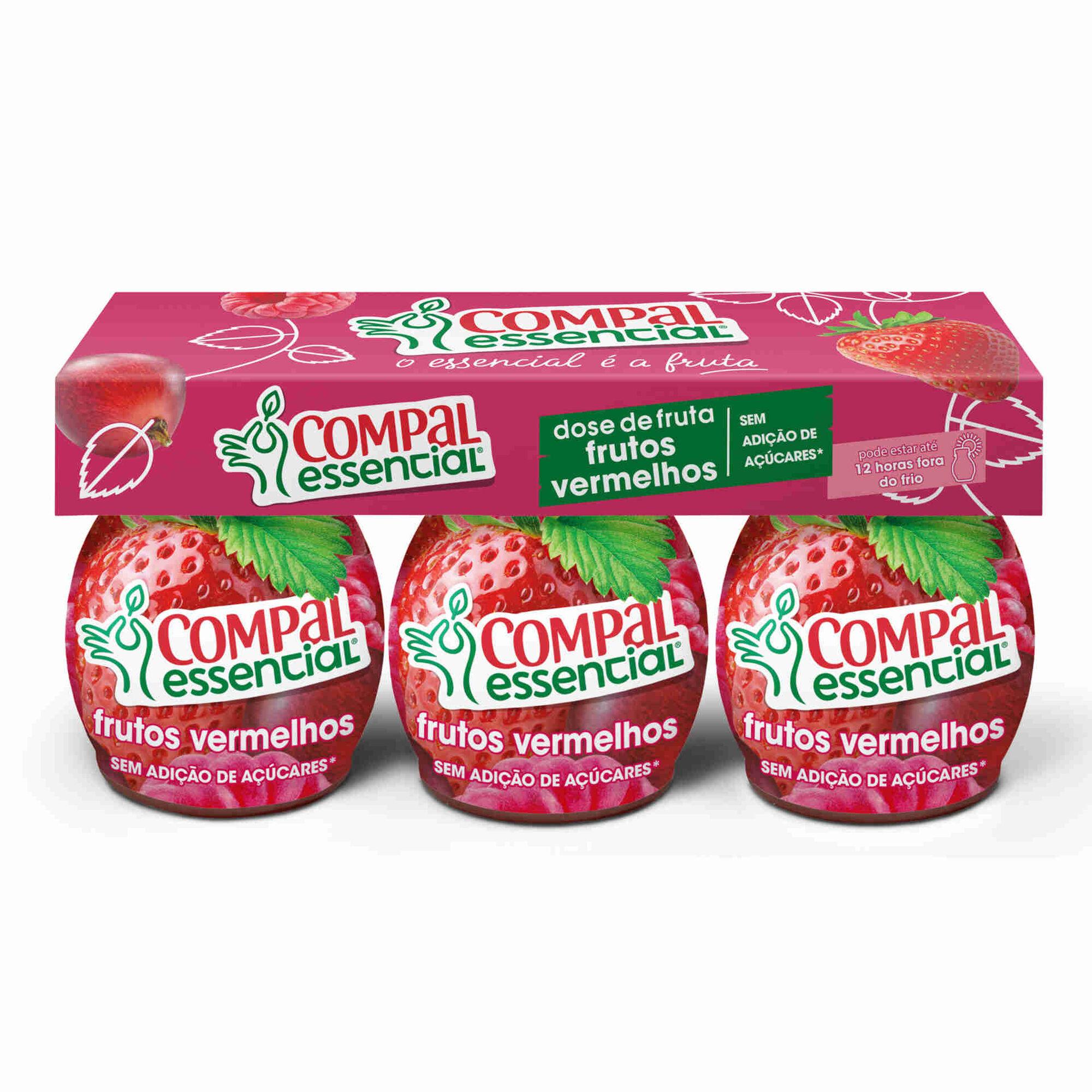 Doses Fruta Frutos Vermelhos