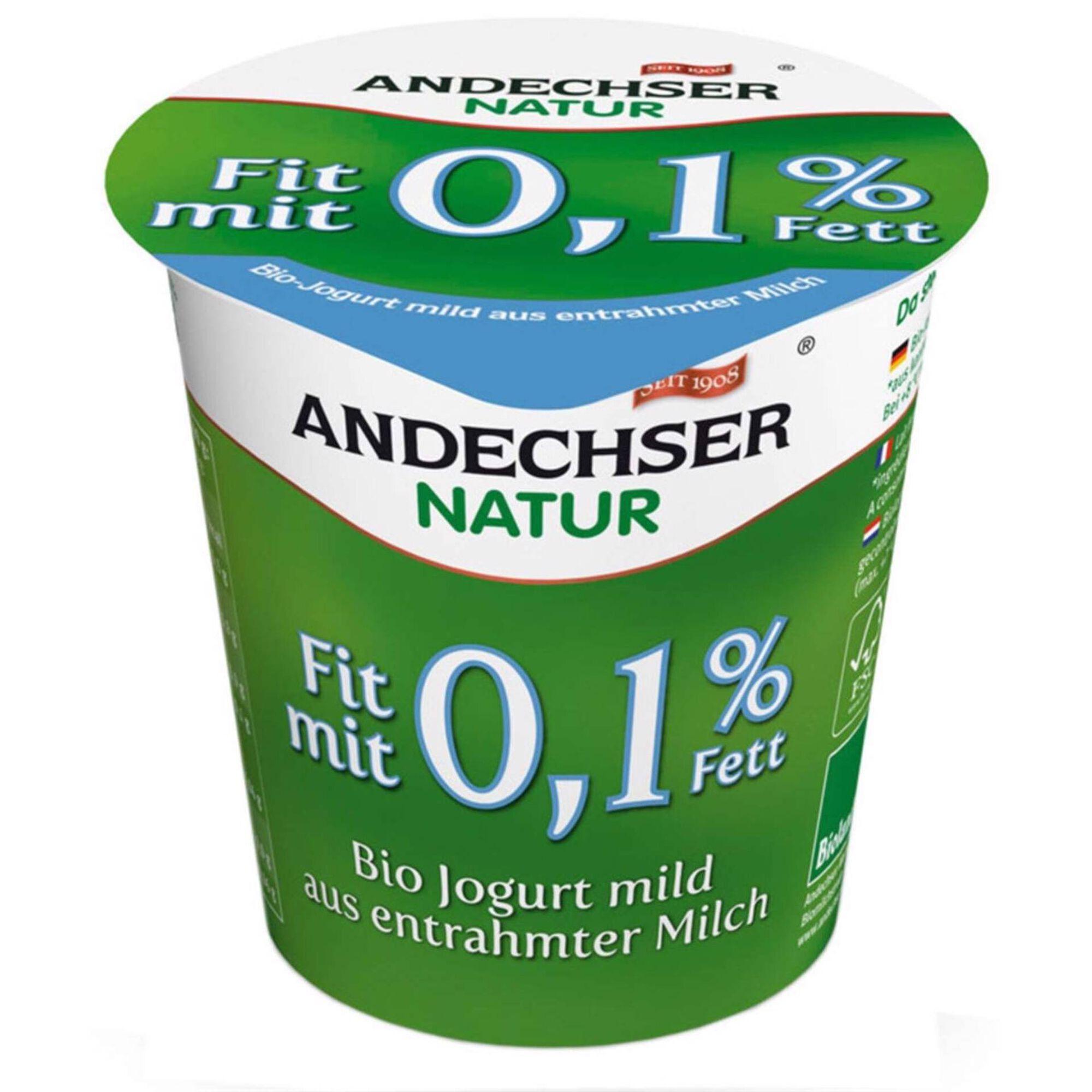 Iogurte 0,1% Matéria Gorda Biológico