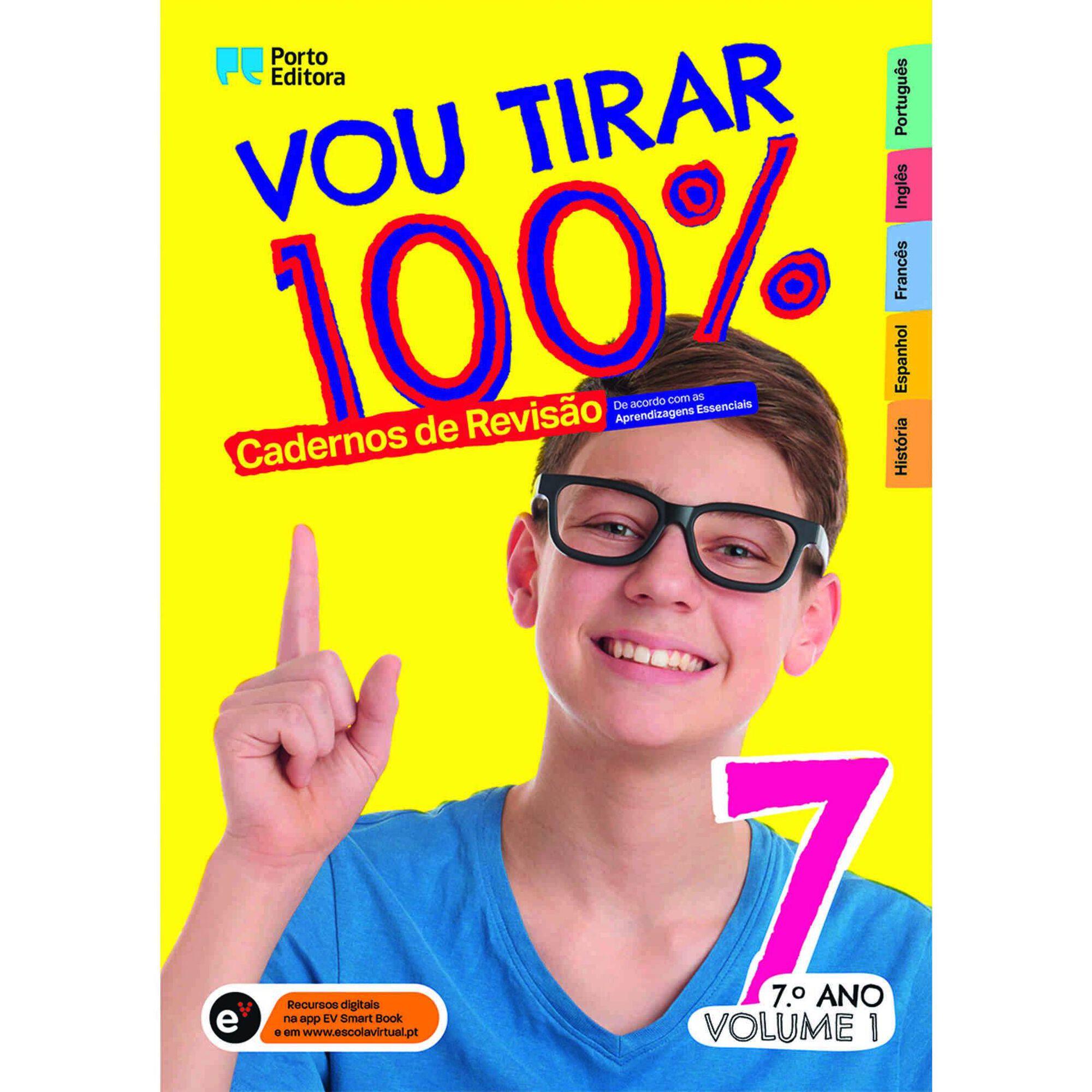 Vou Tirar 100% - 7º Ano (volume 1)