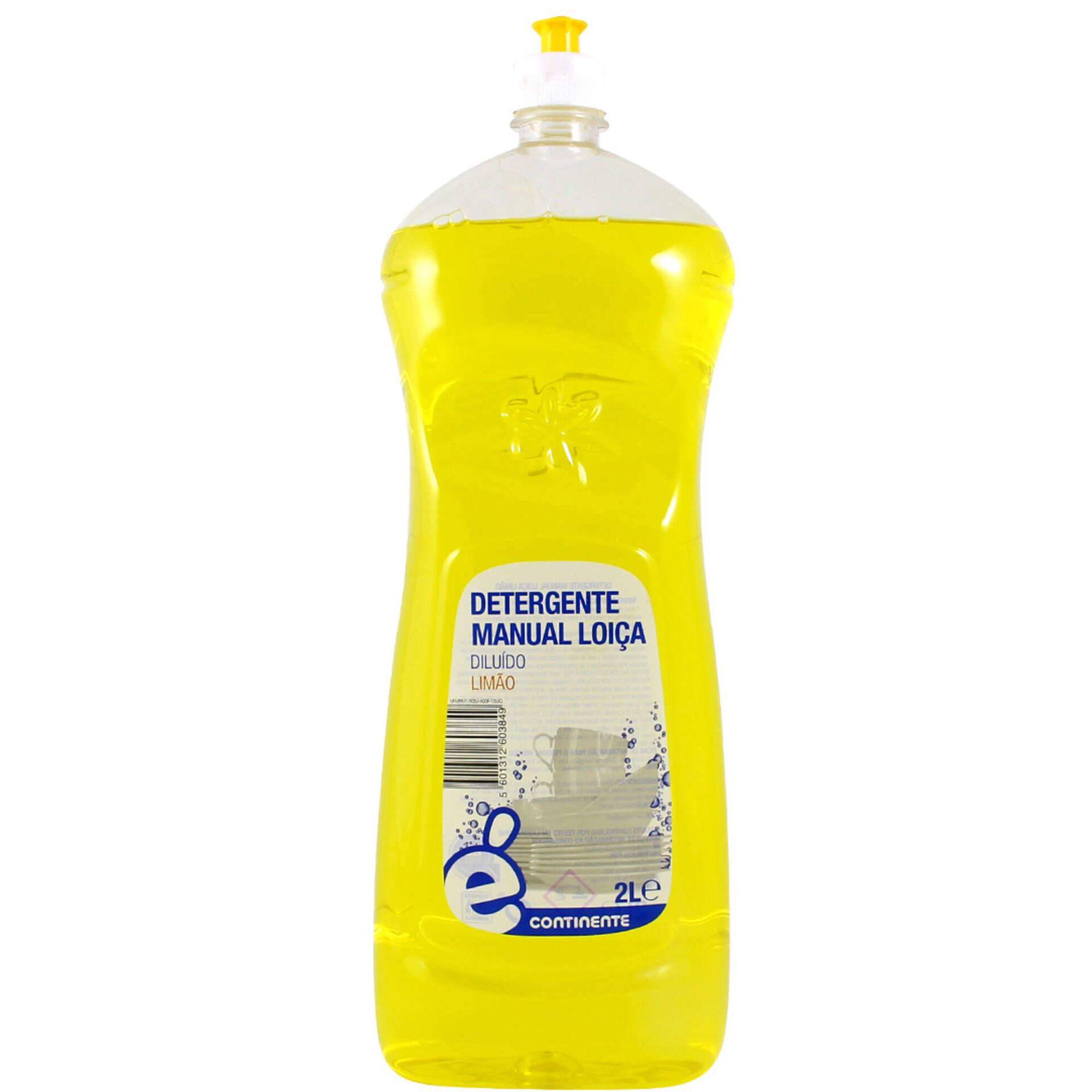 Detergente Manual Loiça Limão