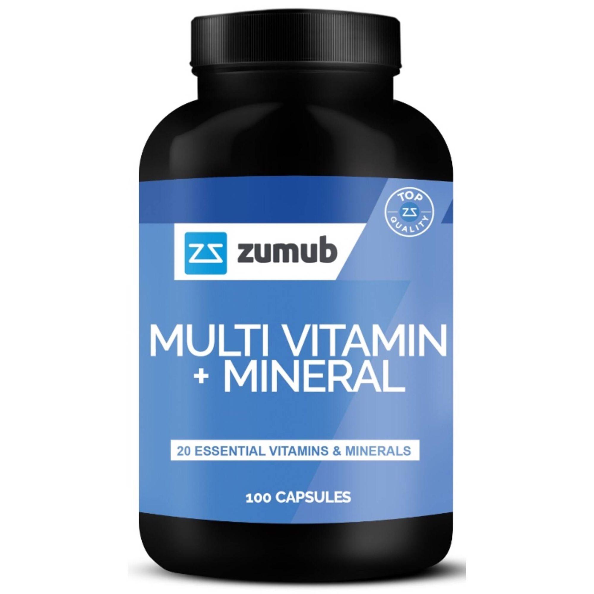 Suplemento Multi Vitaminas + Minerais