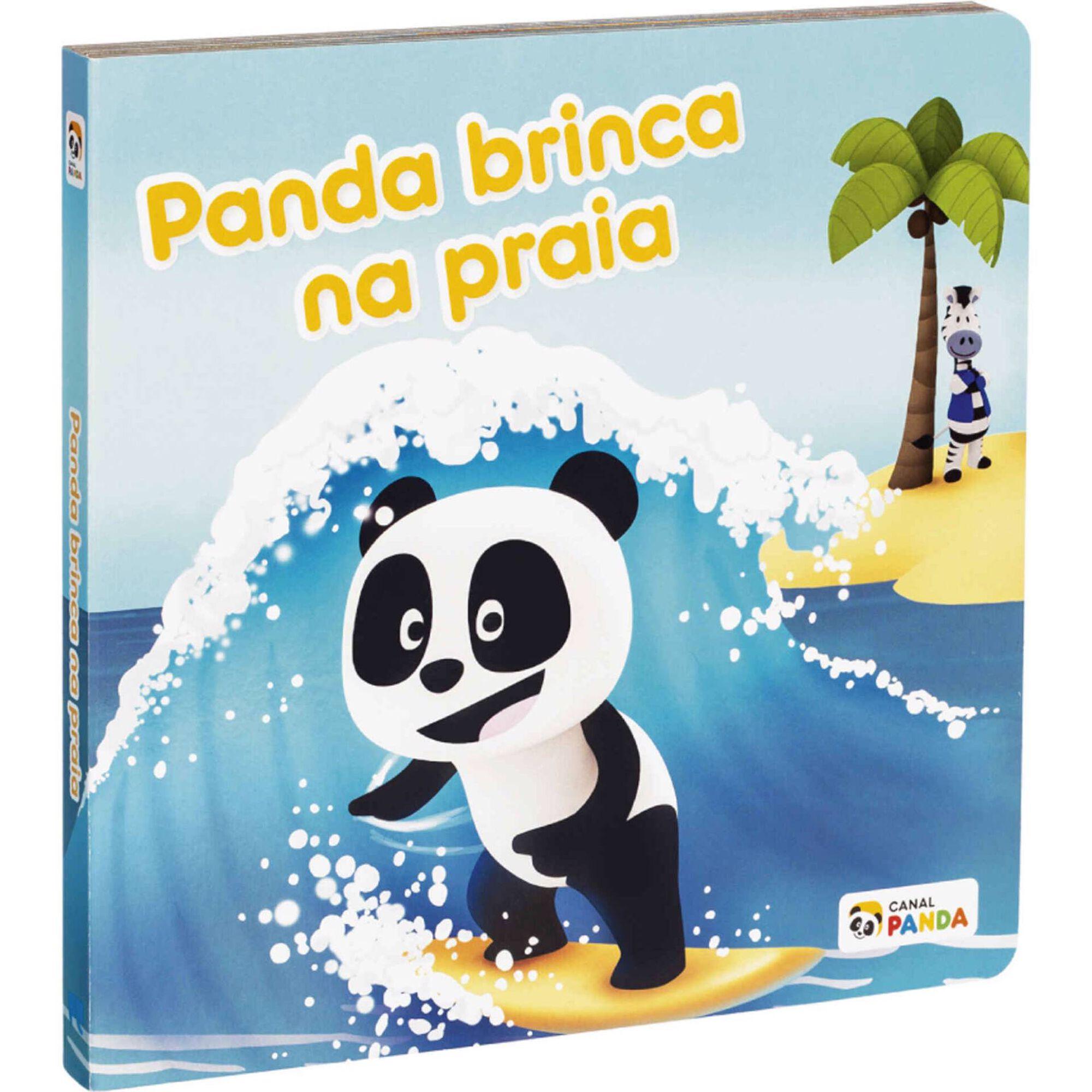 Panda - Panda Brinca na Praia