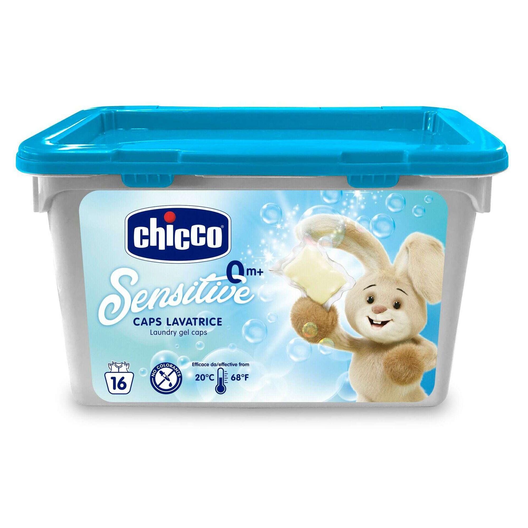 Detergente Máquina Roupa Cápsulas Sensitive