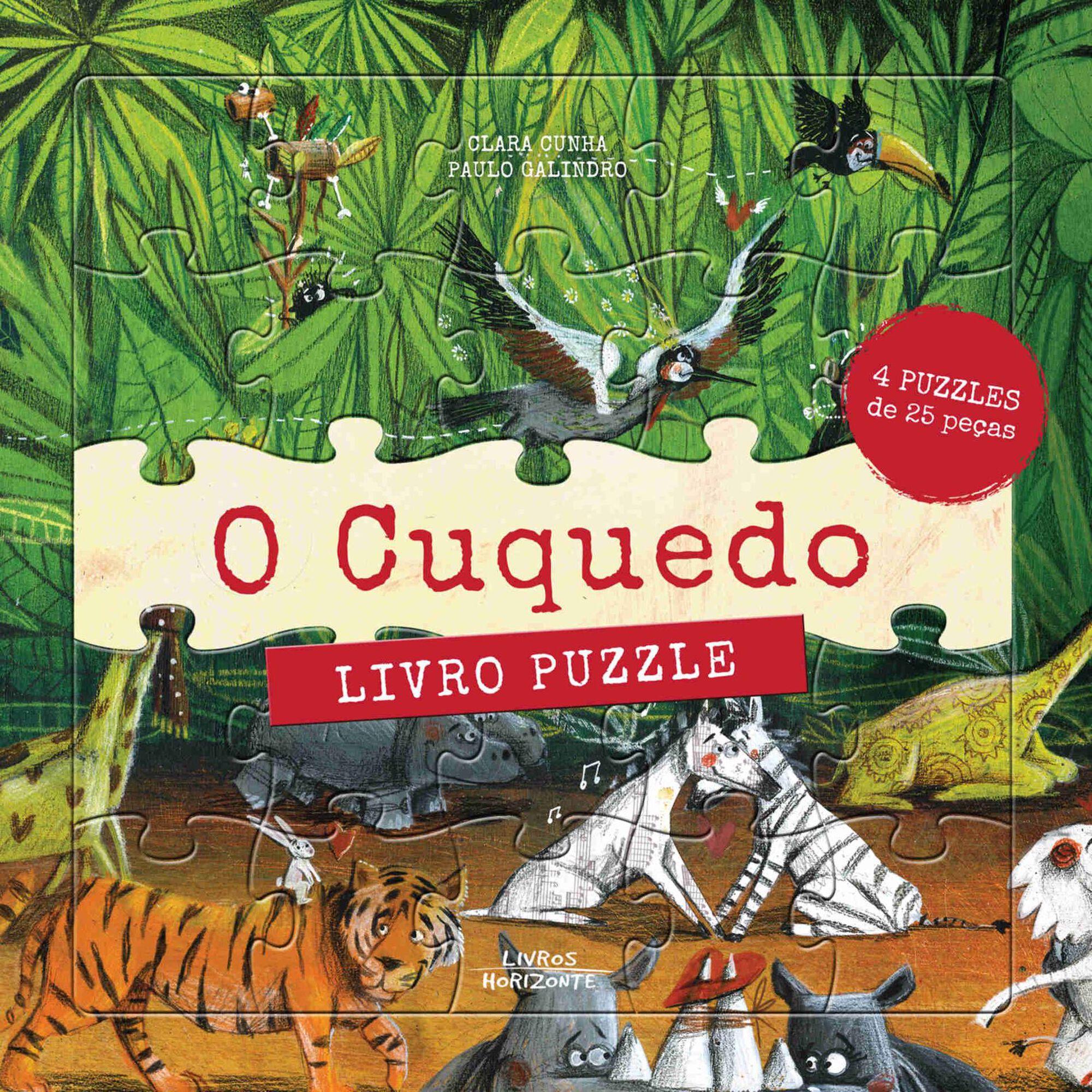O Cuquedo - Livro Puzzle
