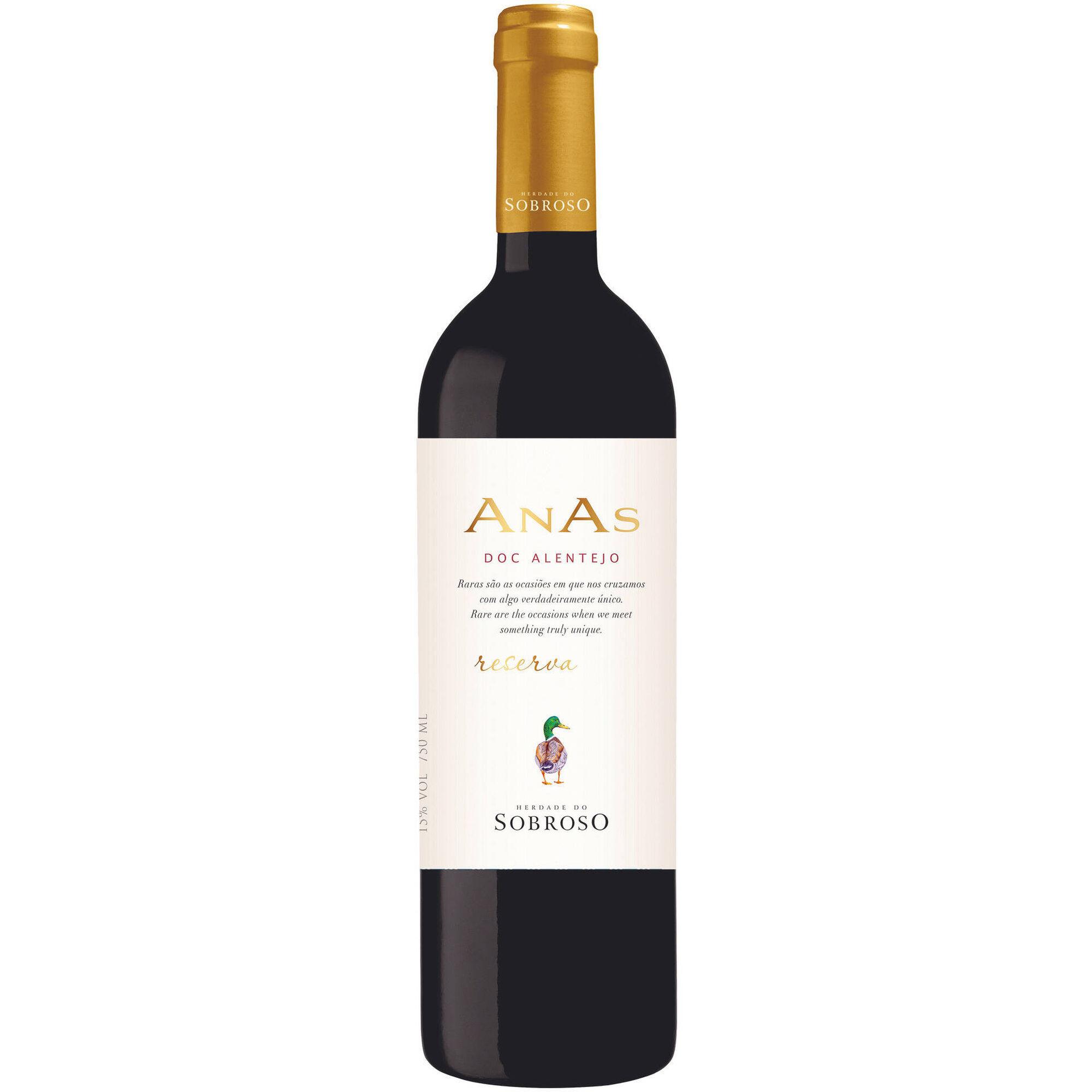 Anas Sobroso Reserva DOC Alentejo Vinho Tinto