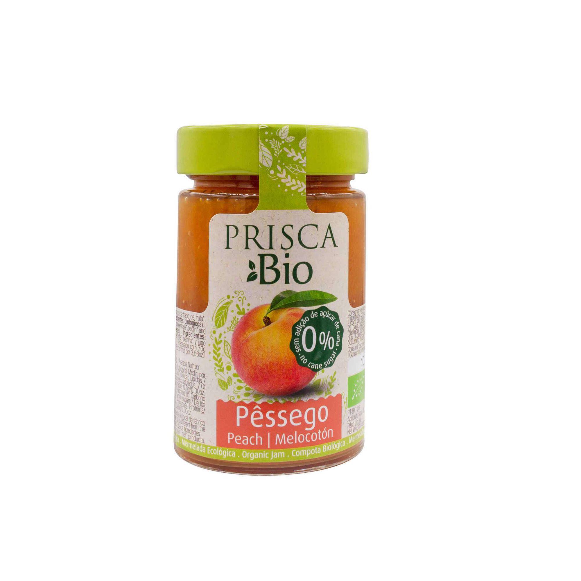 Doce de Pêssego sem Açúcar Biológico