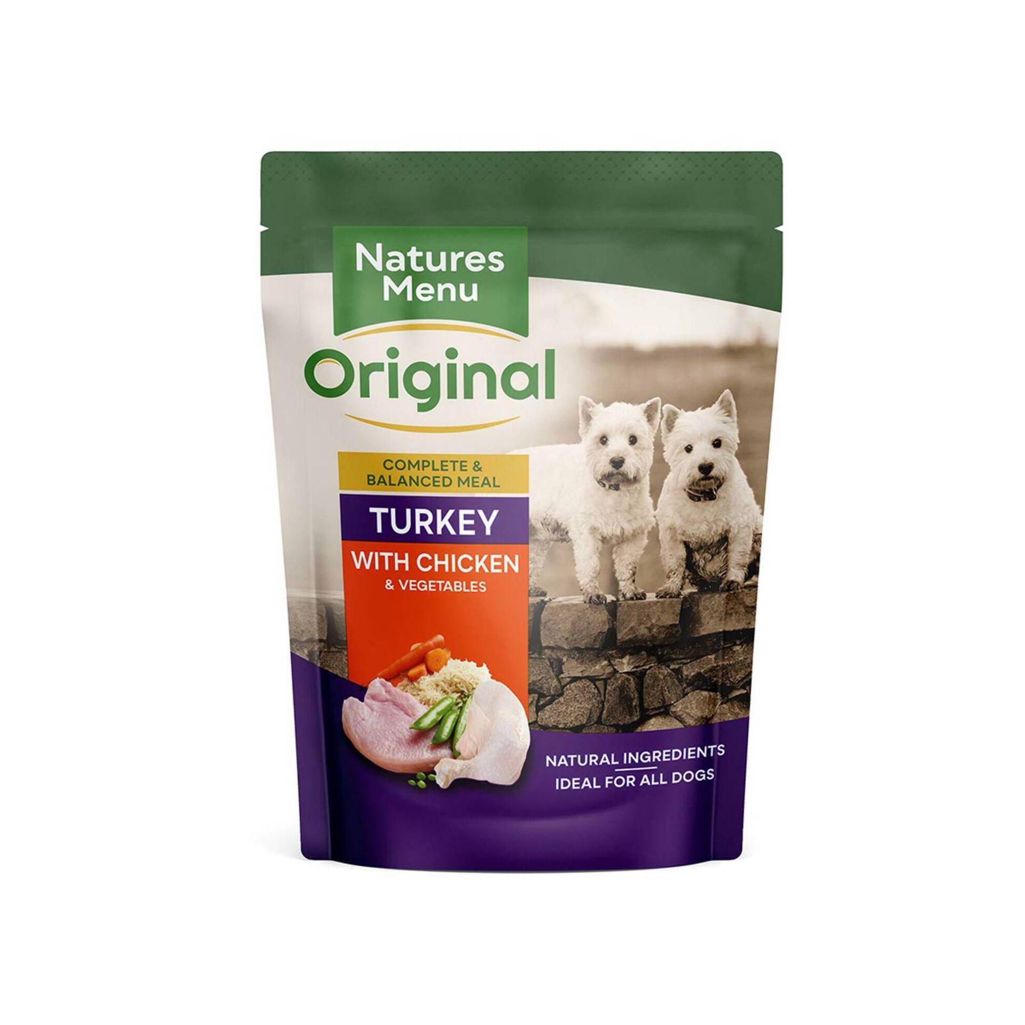 Comida Húmida para Cão Adulto Peru e Frango Saquetas