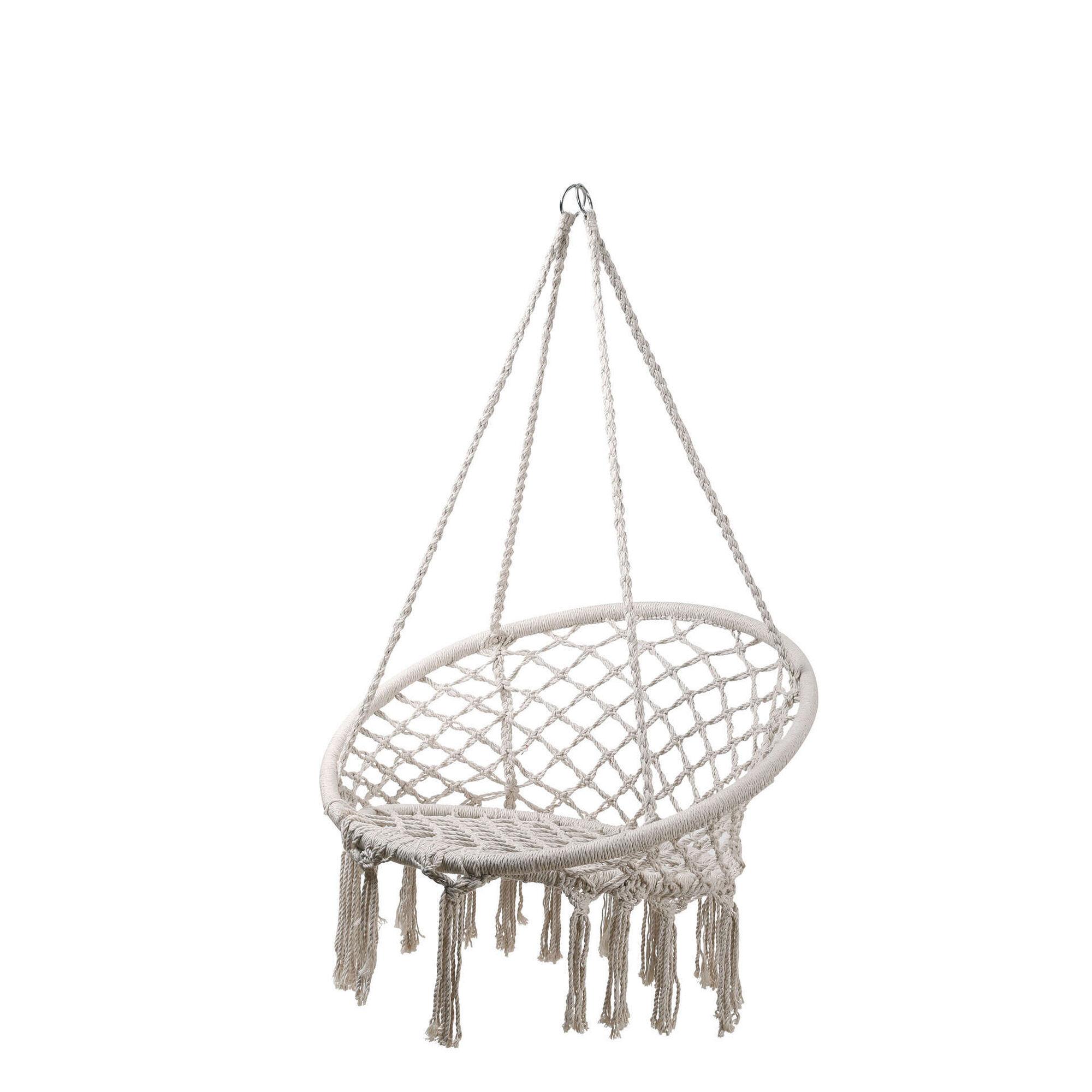 Baloiço Cadeira de Rede Cru