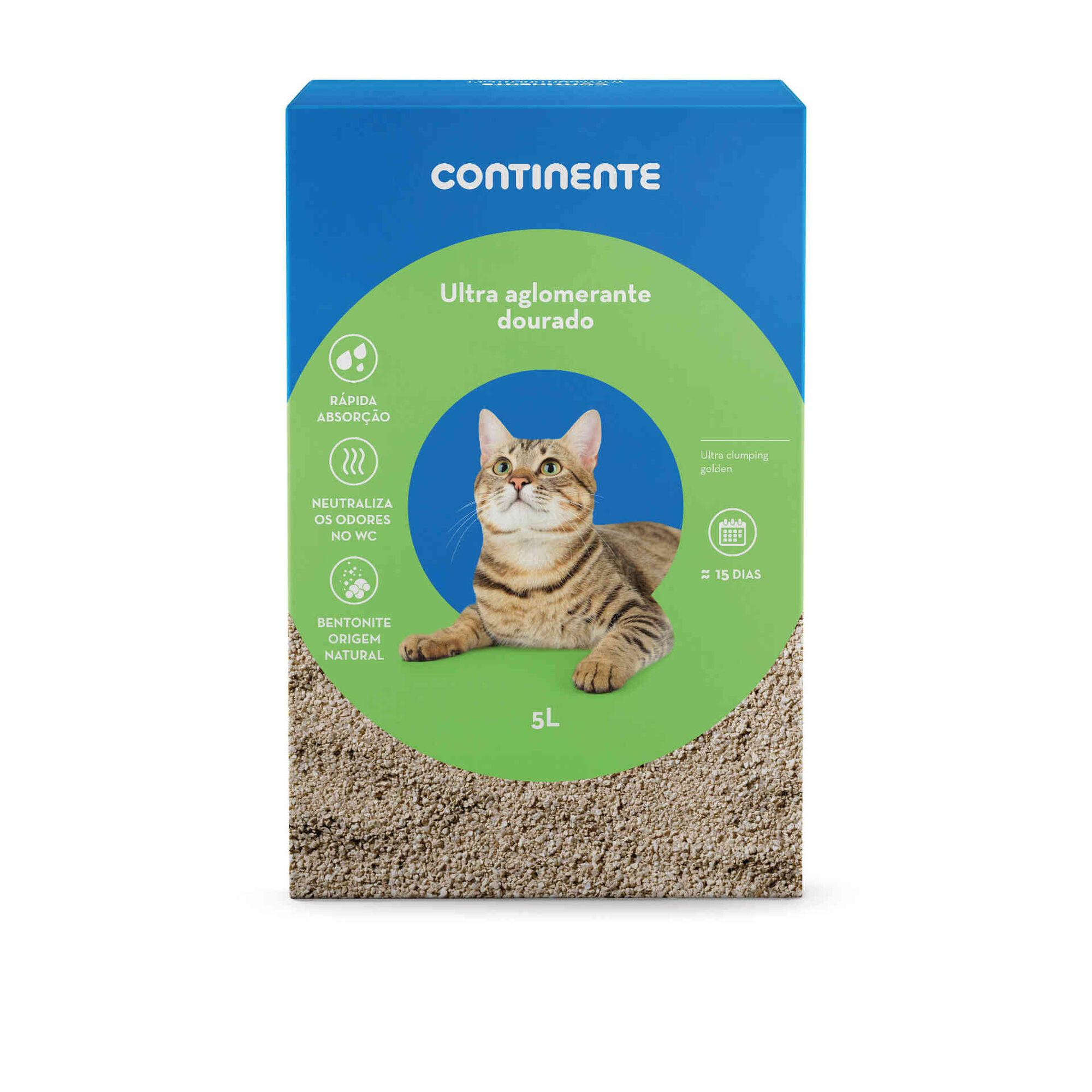 Absorvente para Gato Bentonite Ultra Alglomerante