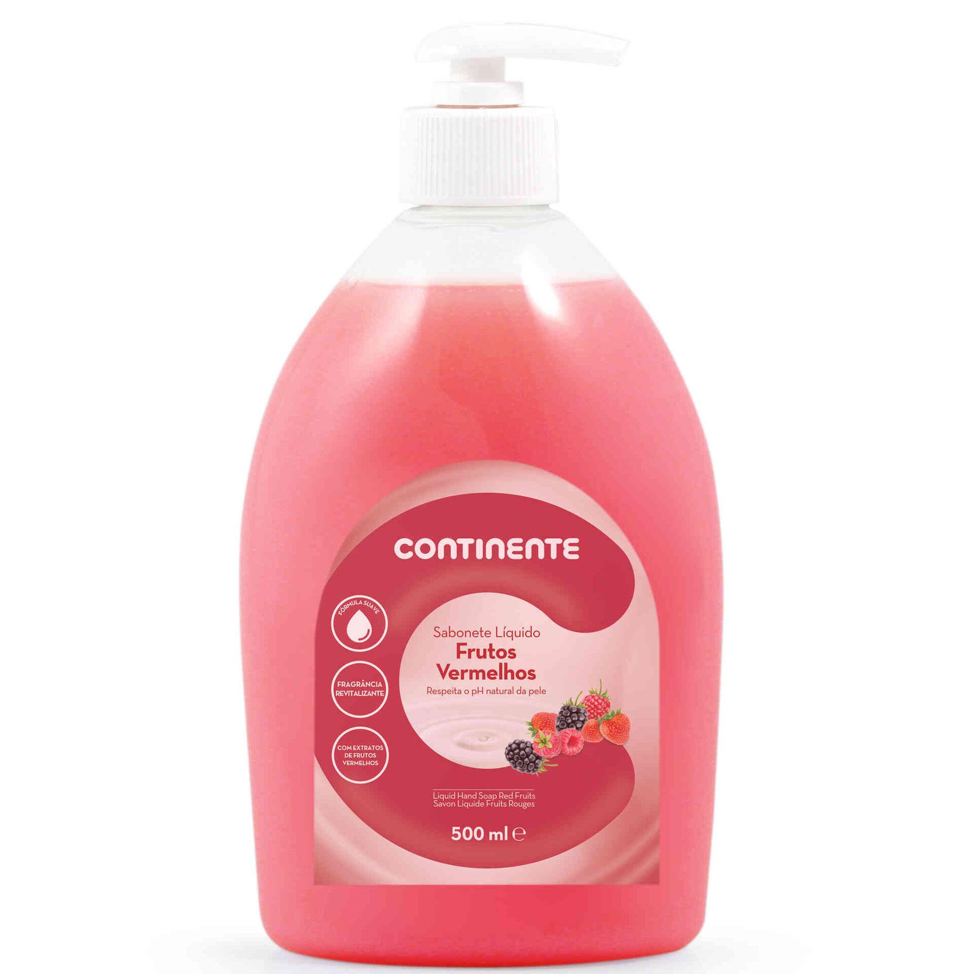 Sabonete Líquido Frutos Vermelhos