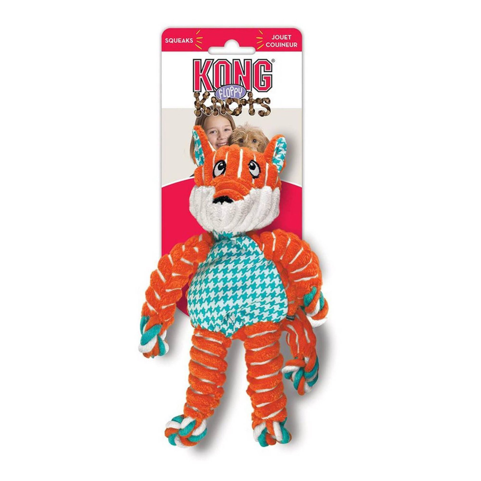 Brinquedo para Cão Fox S e M