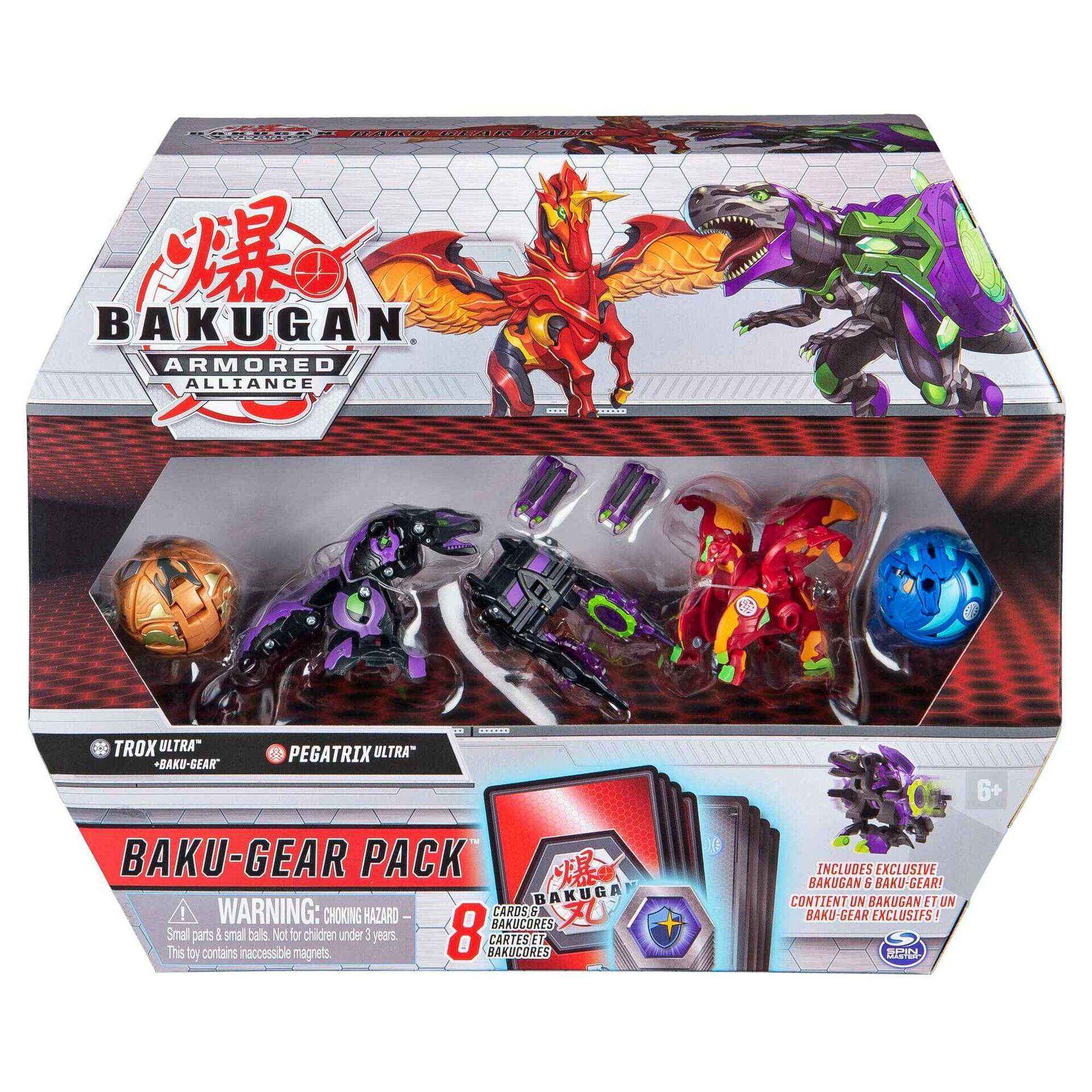 Bakugan S2 - Battle Gear Pack (vários modelos)