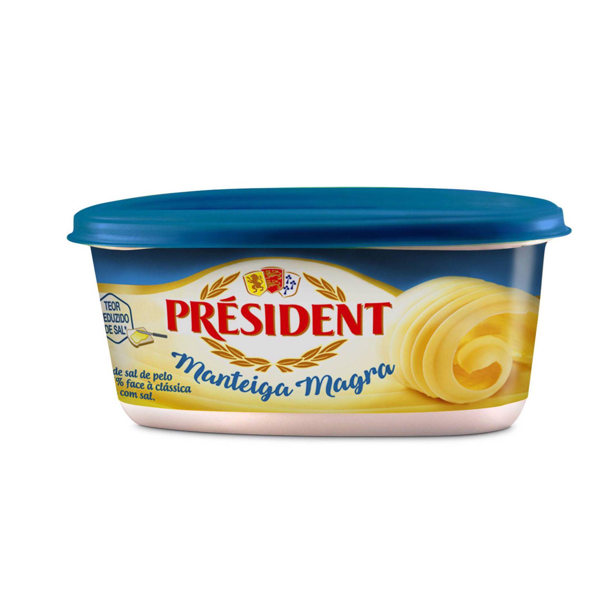 Manteiga Magra Baixo Teor Sal