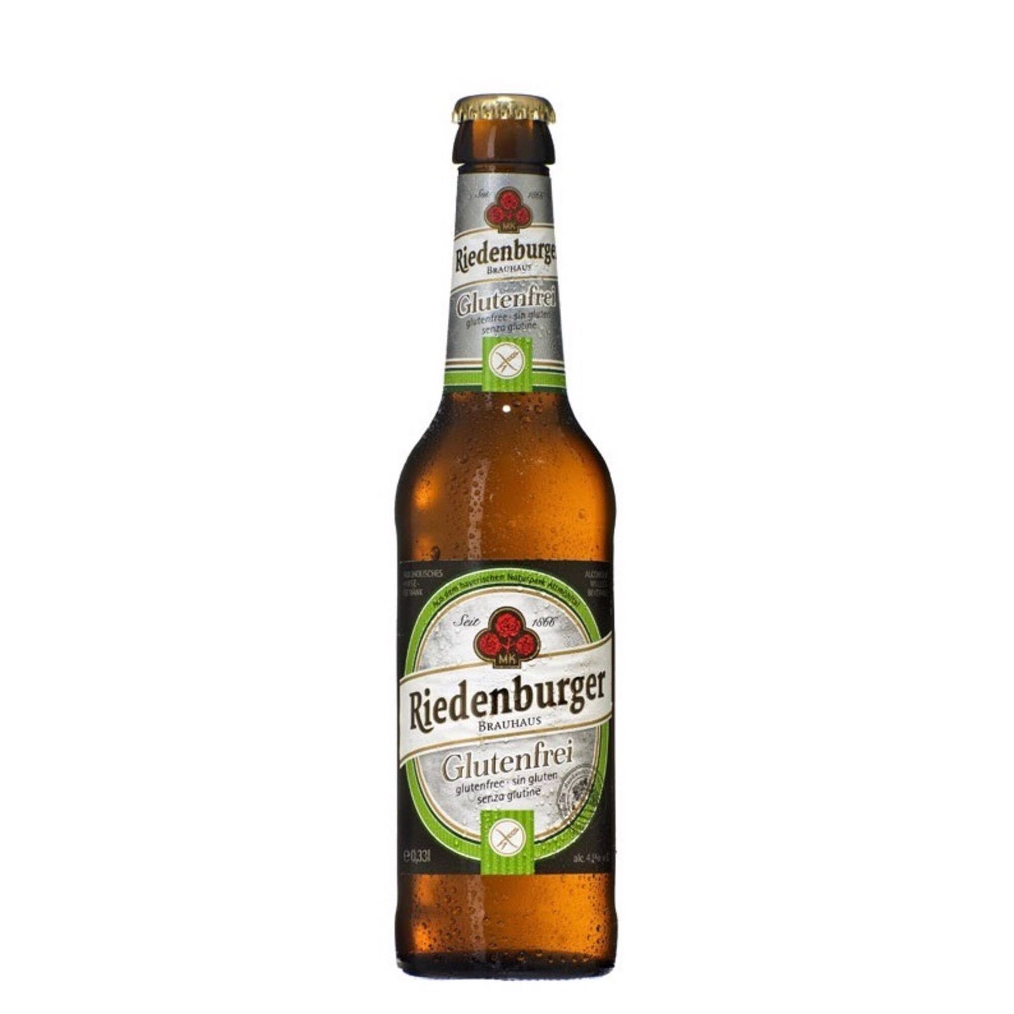 Cerveja com Álcool sem Glúten Biológica