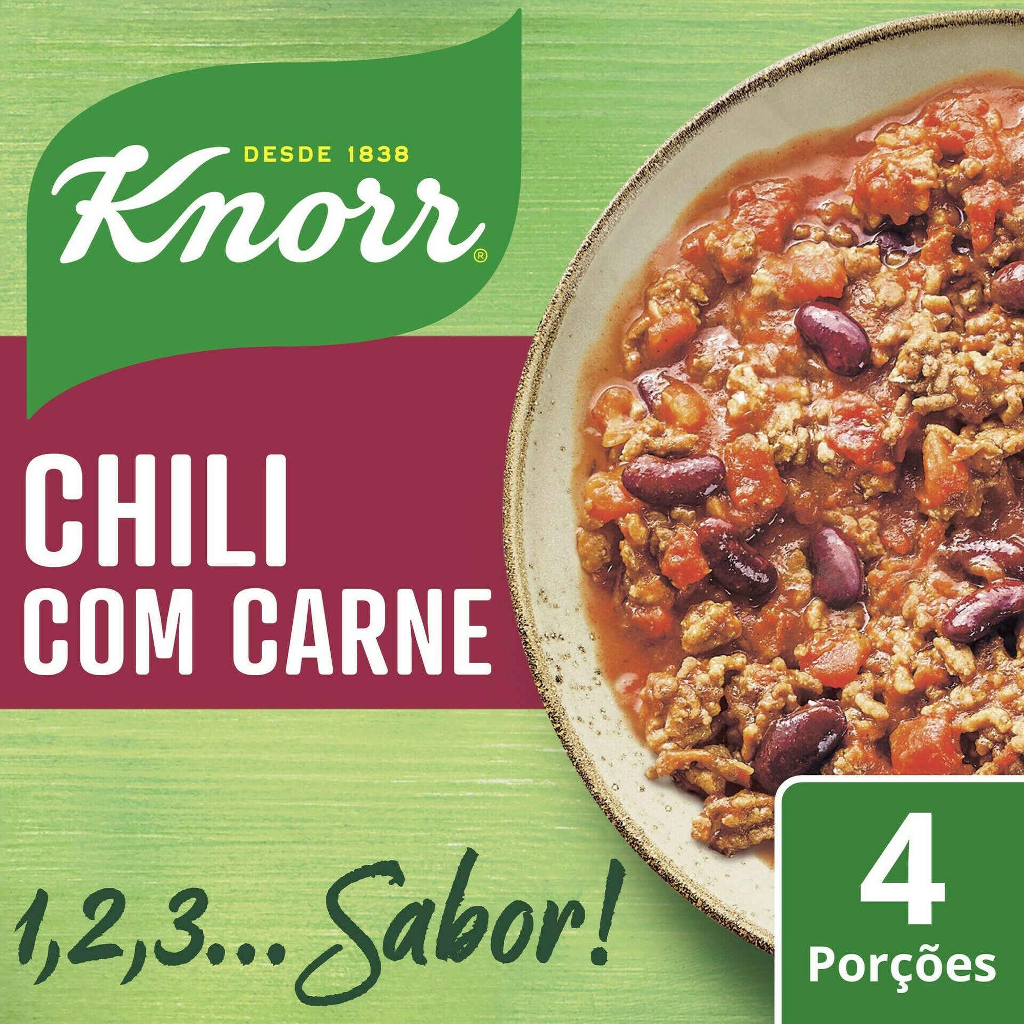 Chili com Carne em Saqueta