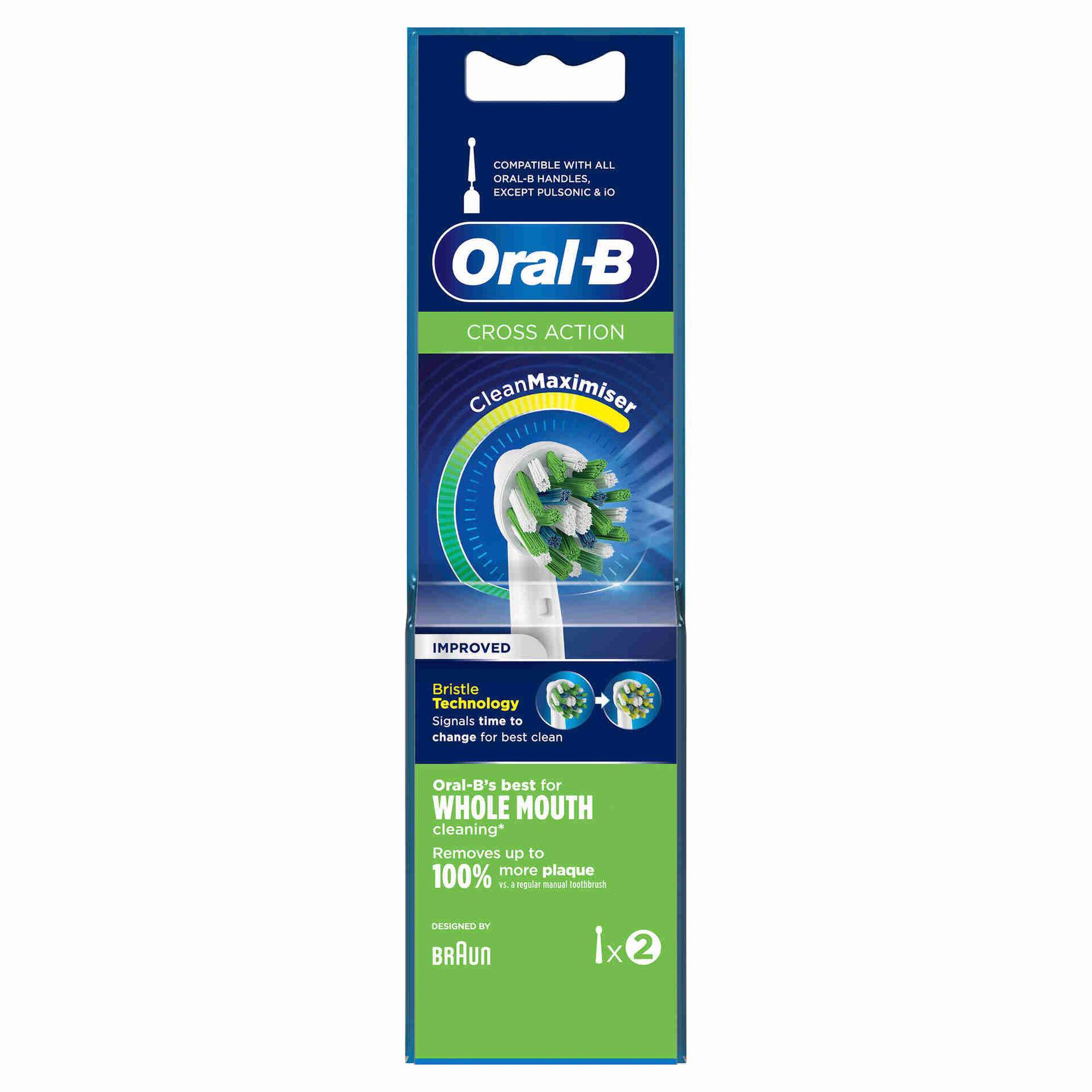 Recarga Escova de Dentes Elétrica Cross Action
