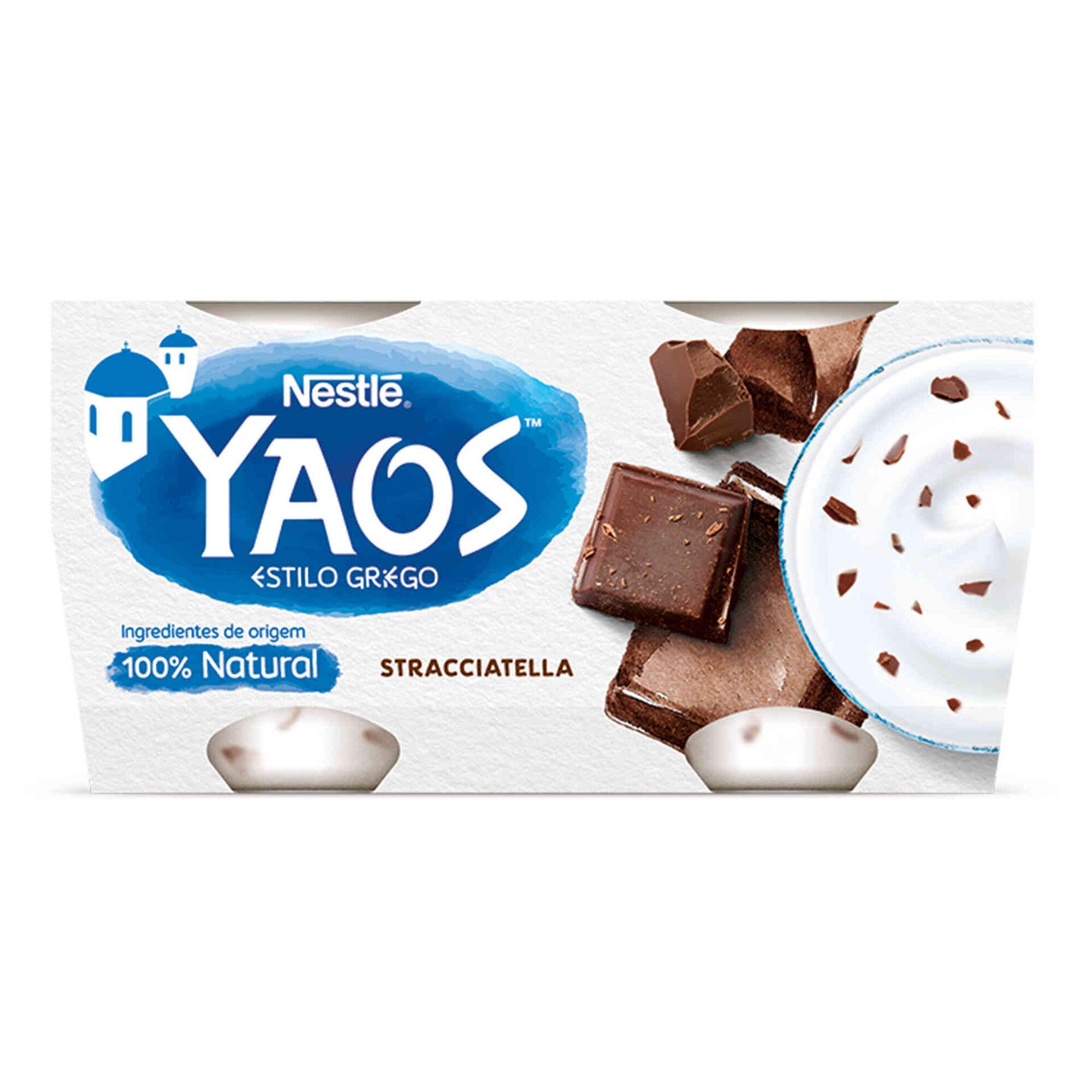 Iogurte Grego Yaos Stracciatella
