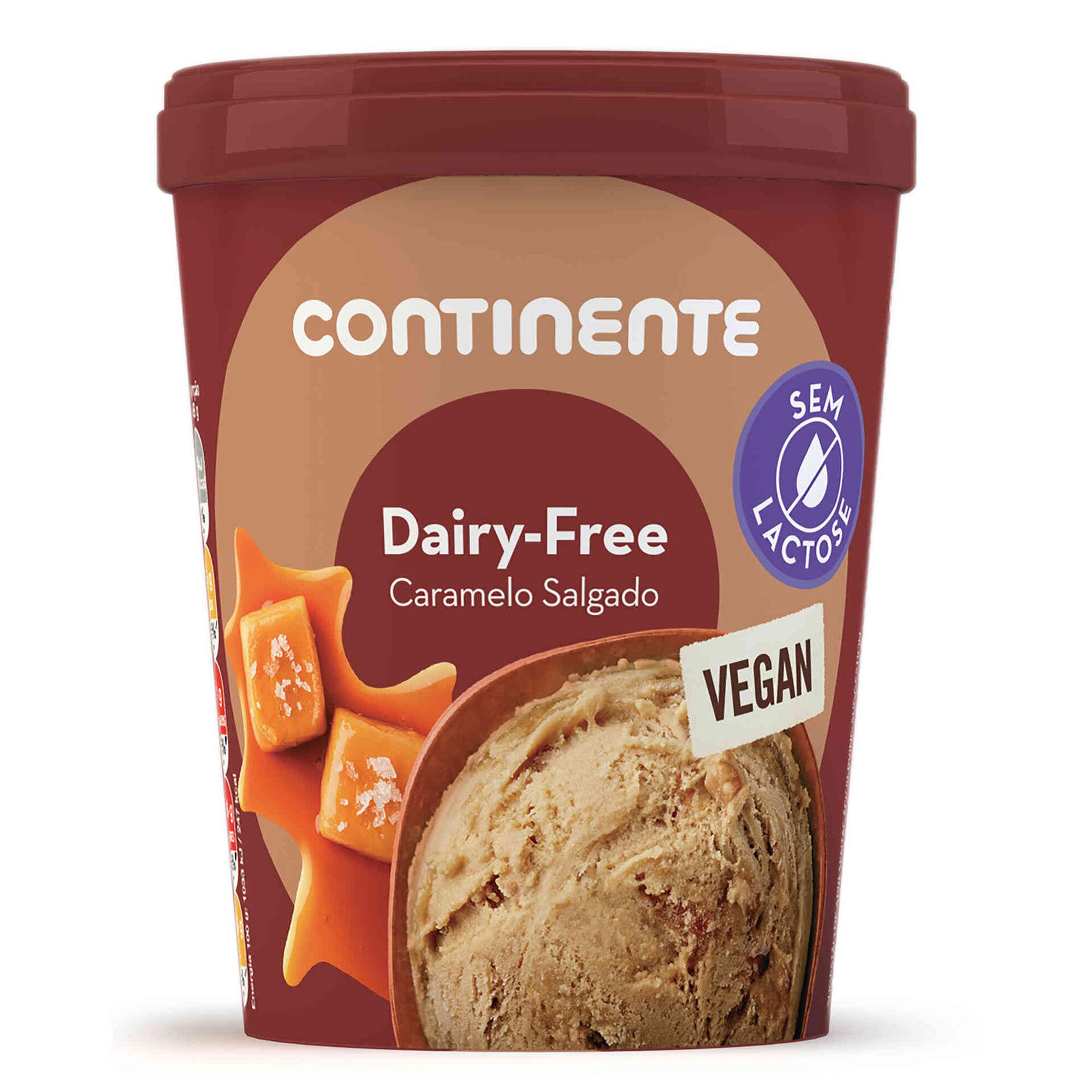 Gelado Caramelo Salgado Dairy Free