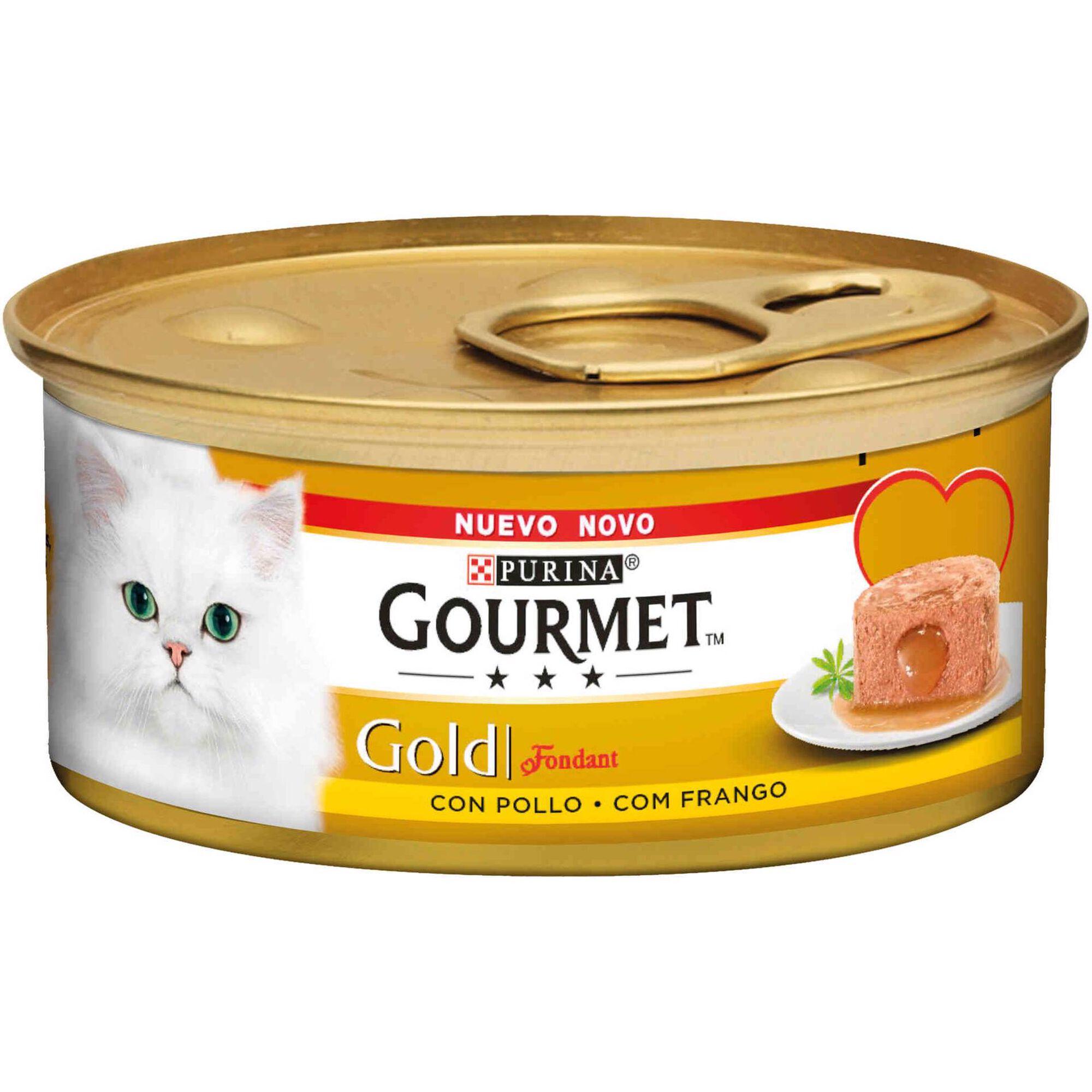 Comida Húmida para Gato Adulto Frango Lata
