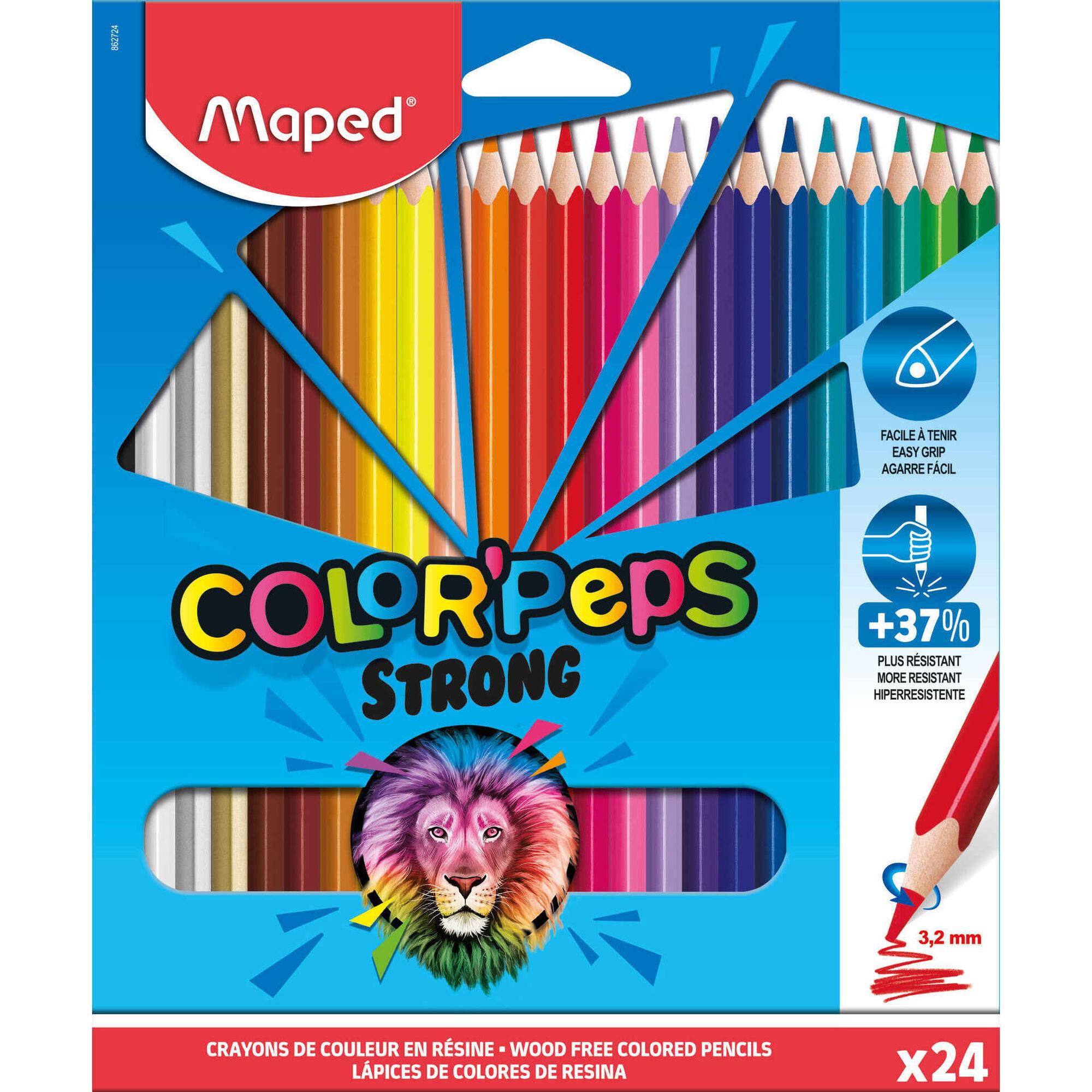 Lápis de Cor Color'Peps Strong