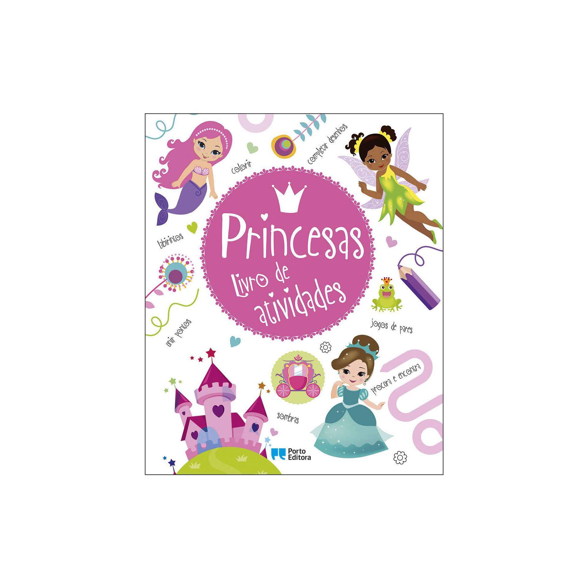Princesas - Livro de Atividades