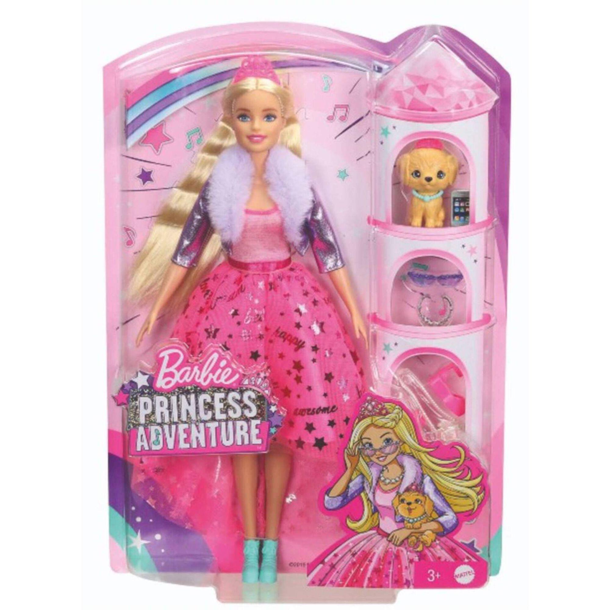 Boneca Barbie Princess Adventure