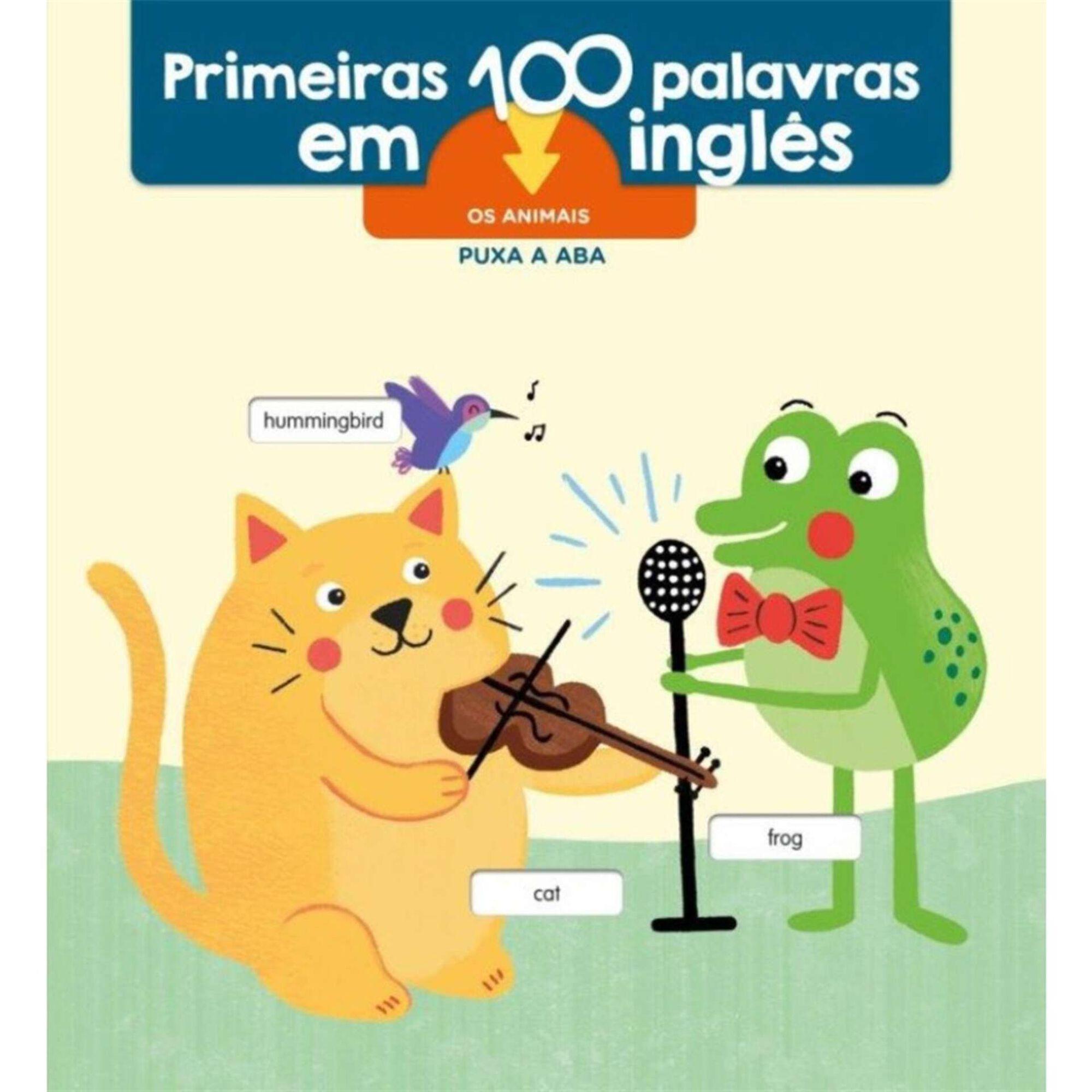 Primeiras 100 Palavras em Inglês - Os Animais
