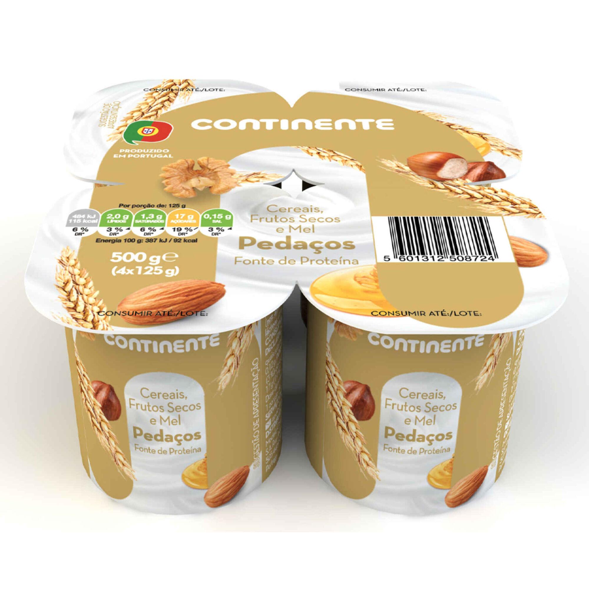 Iogurte Pedaços de Cereais
