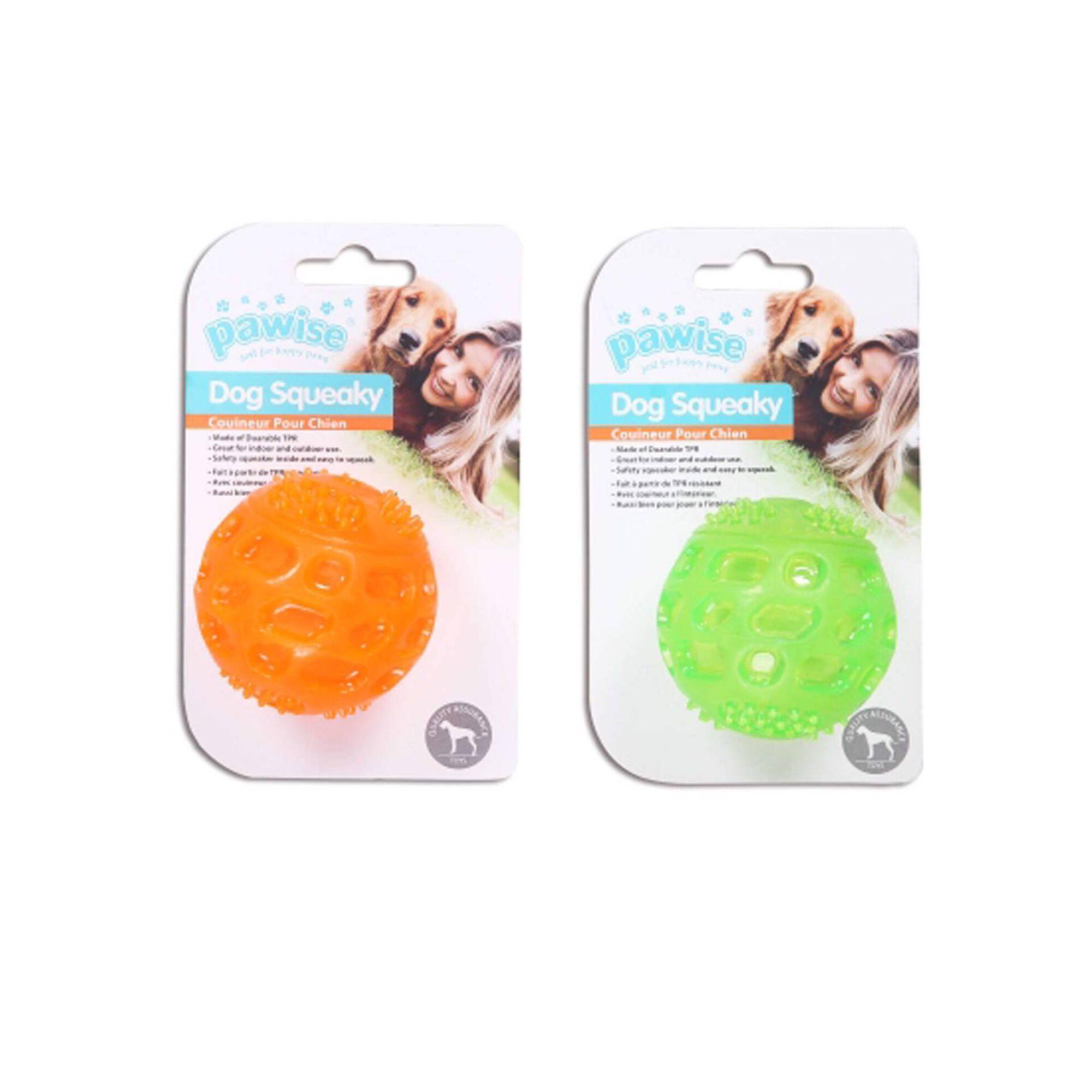 Bola para Cão TPR com Squeaker 6,5 cm