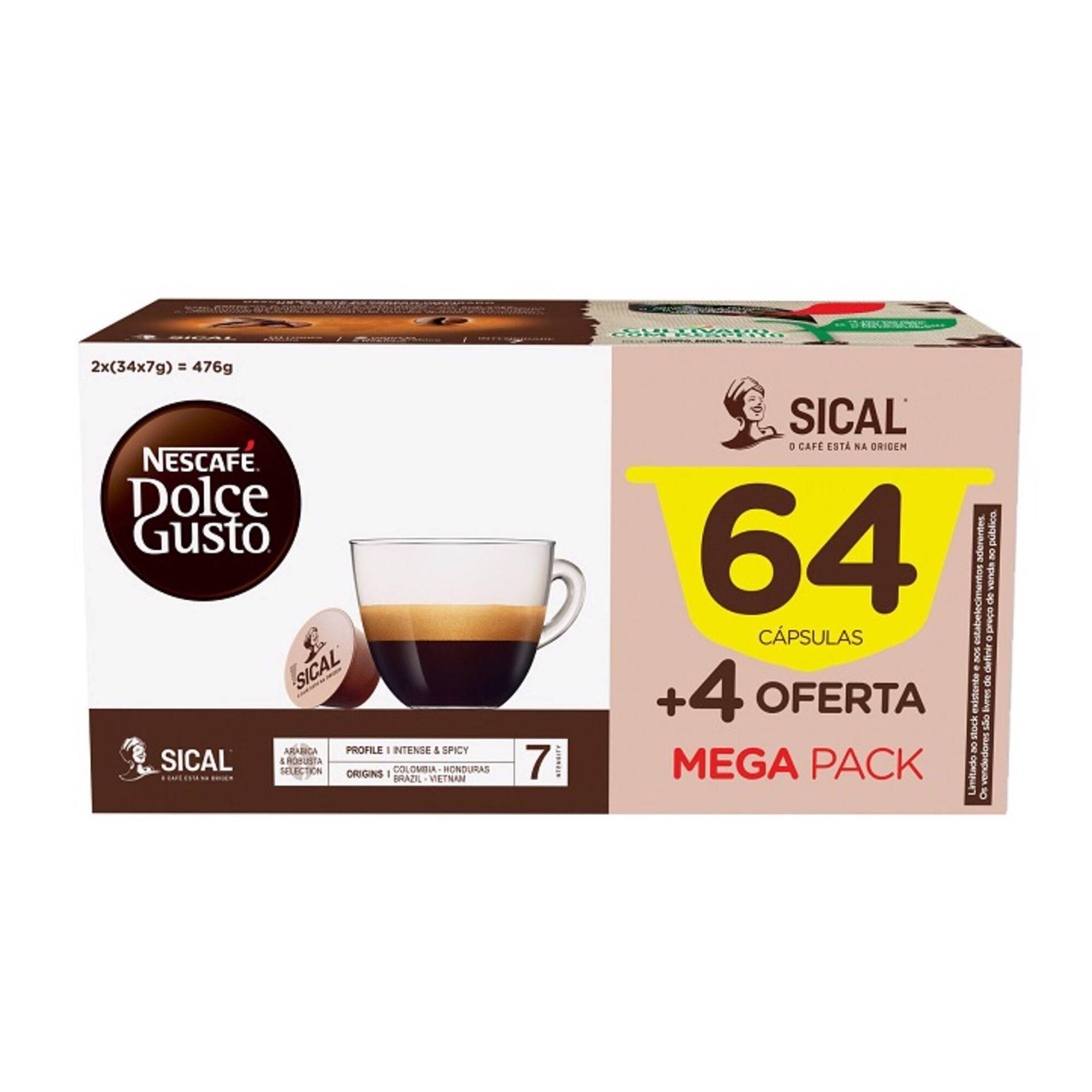 Cápsulas de Café Sical Int 7
