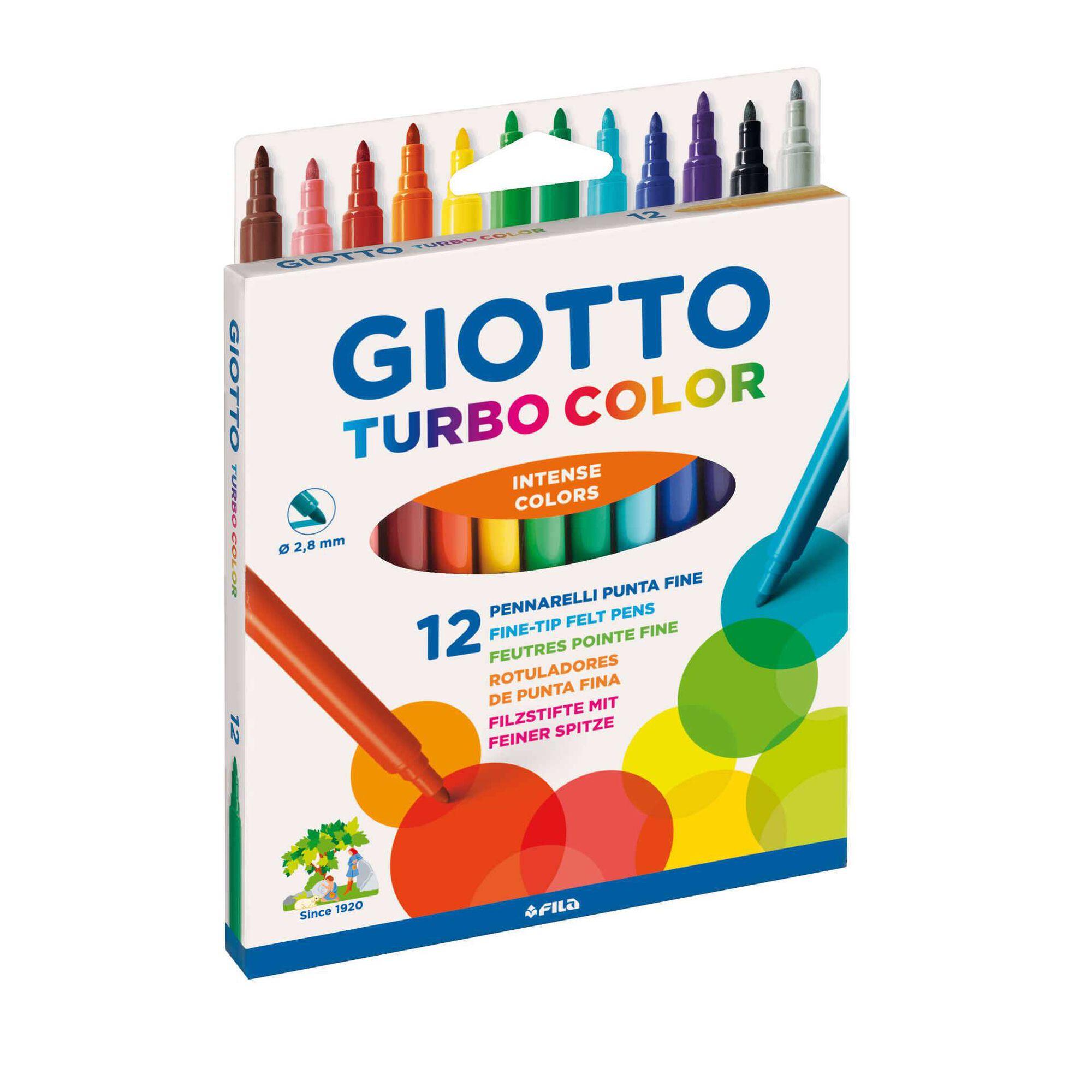 Marcadores de Colorir Finos Turbo Color
