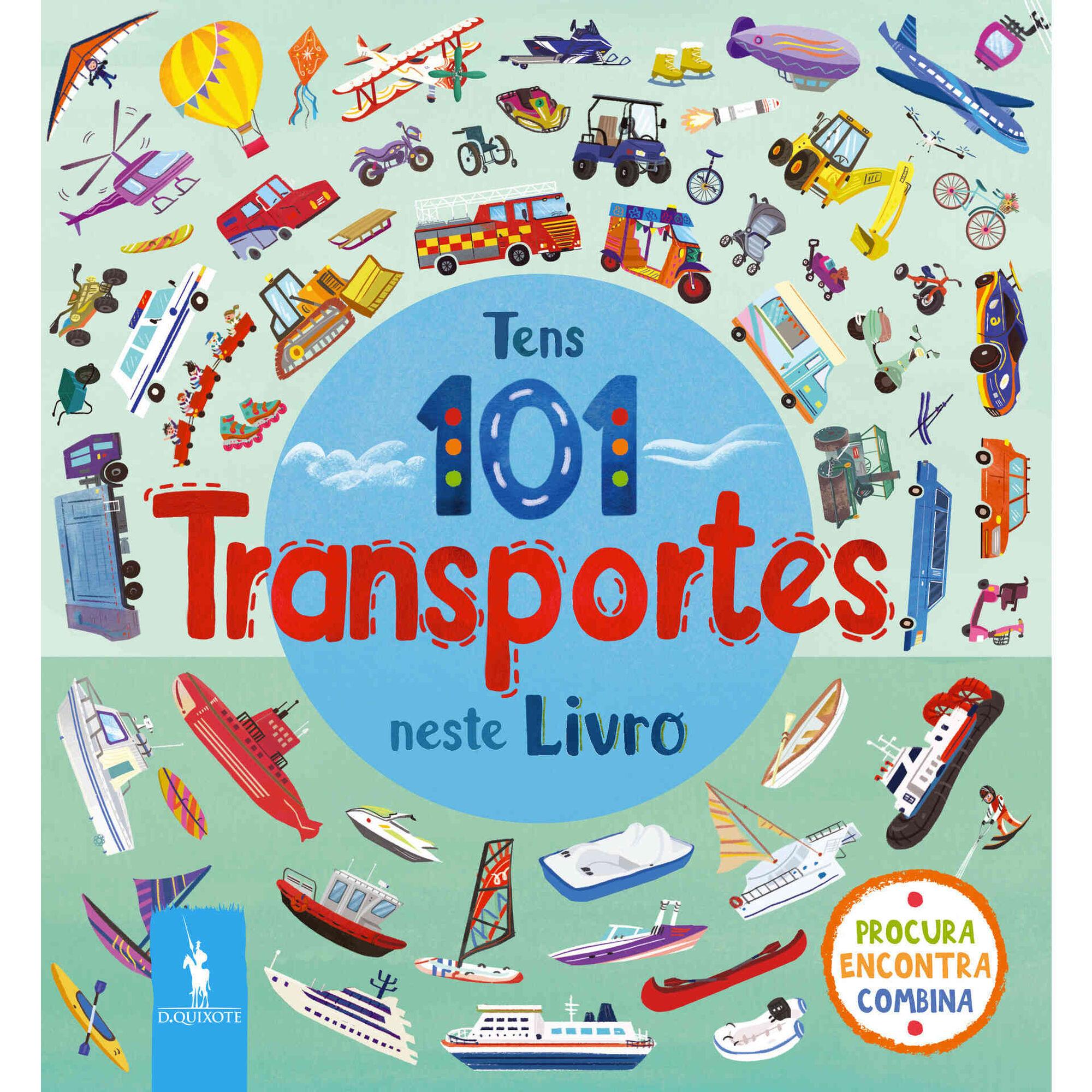 Tens 101 Transportes Neste Livro
