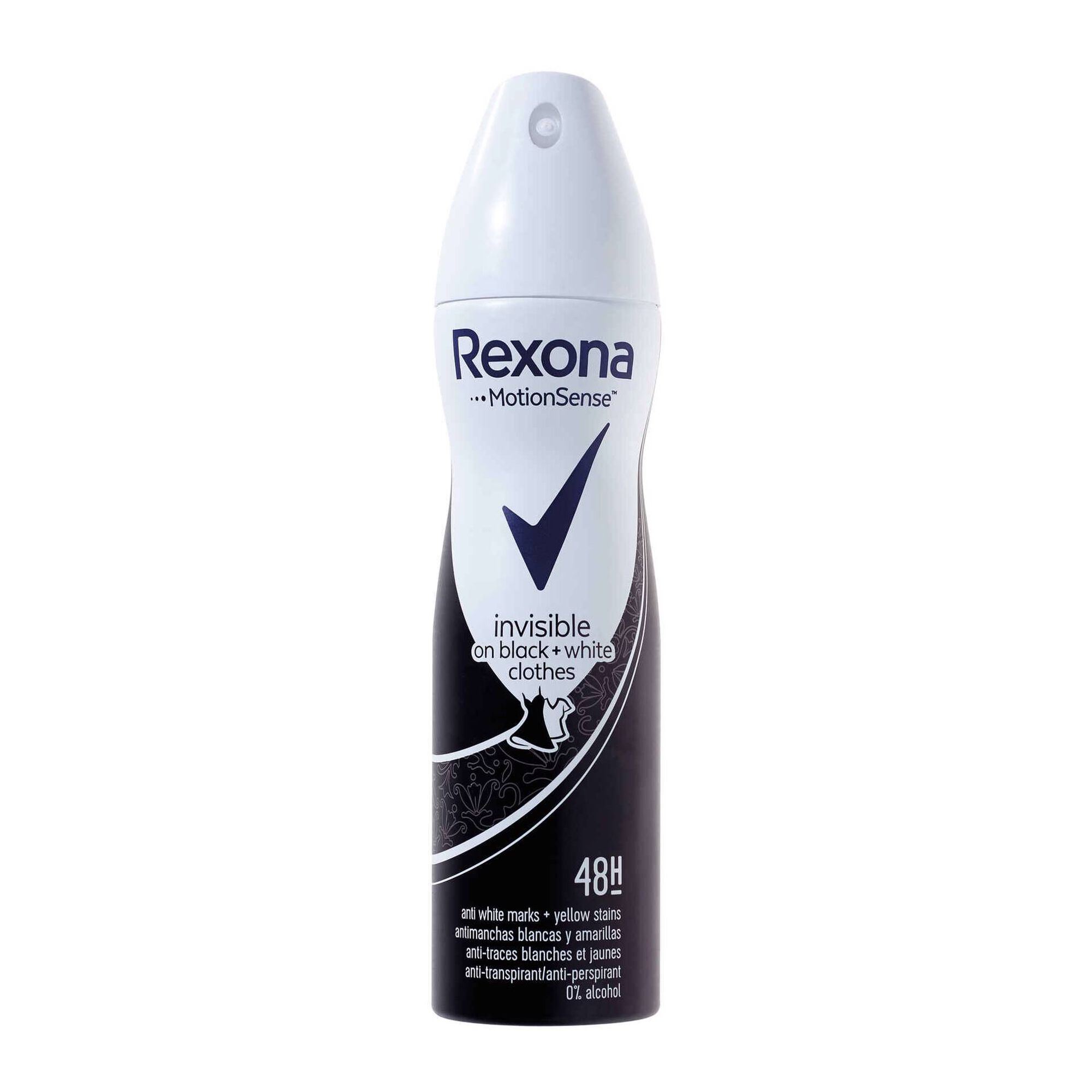 Desodorizante Spray Invisible Black & White Clothes