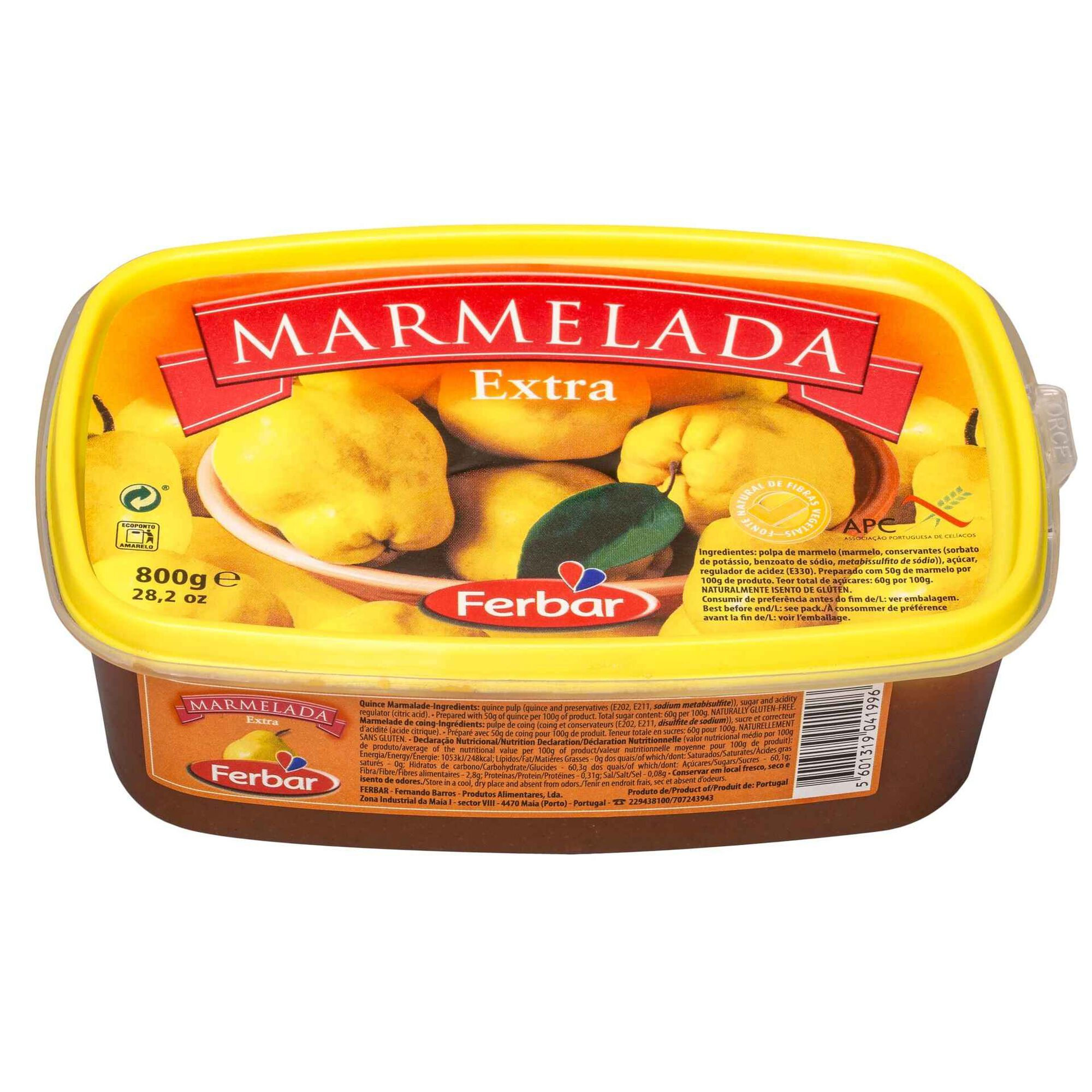 Marmelada sem Glúten